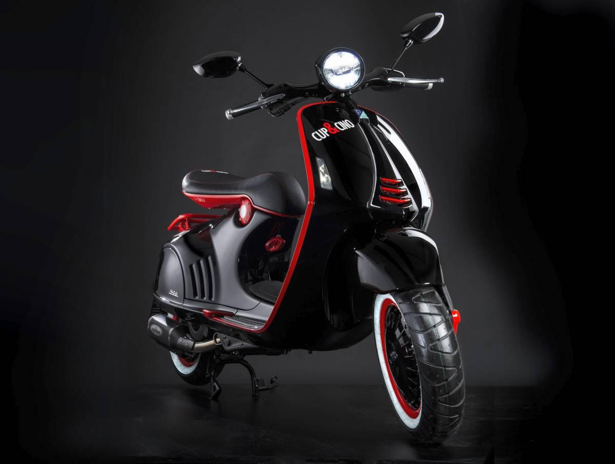 vespa 300 ss custom motorrad fotos motorrad bilder. Black Bedroom Furniture Sets. Home Design Ideas