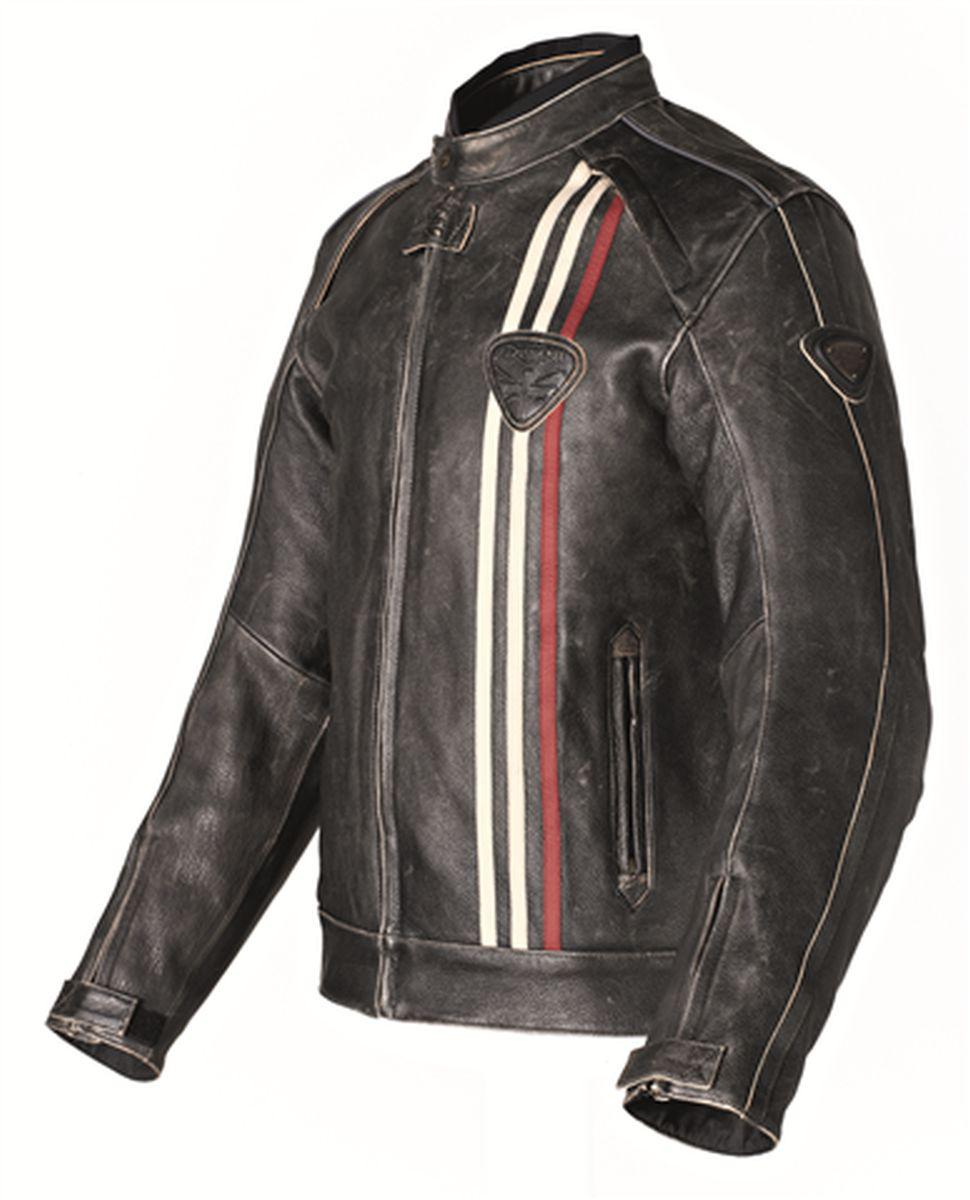Retro Leather Motorcycle Jacket