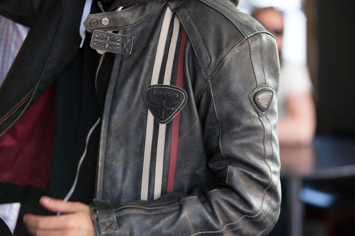 Retro Ducati Leather Jacket
