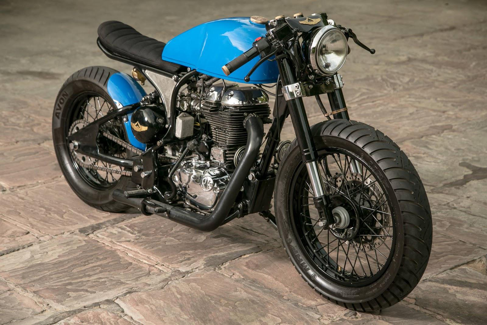 royal enfield nu caf racer motorrad fotos motorrad bilder. Black Bedroom Furniture Sets. Home Design Ideas