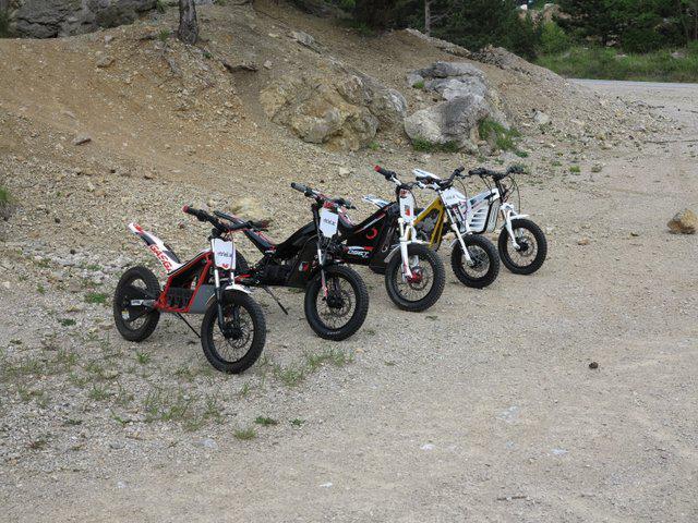 kinder trial motorrad