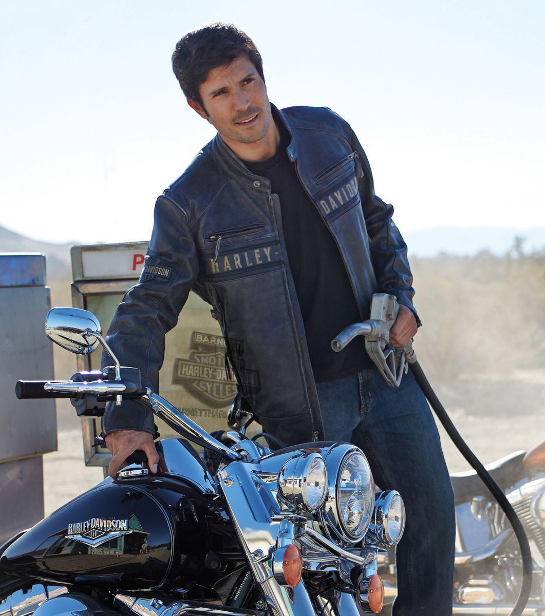 Used Harley Davidson Mens Leather Jackets