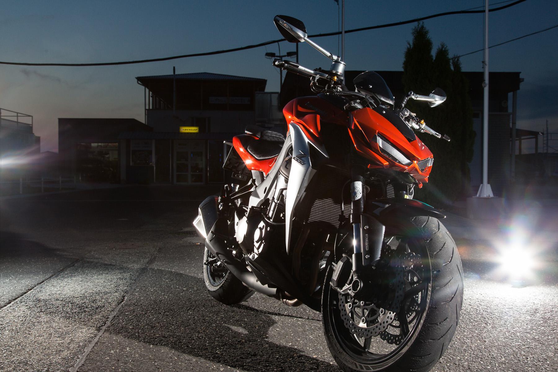 Kawasaki Z1000 Rizoma Testbericht Lighting System Circuit 2014 Dauertester Zubehr