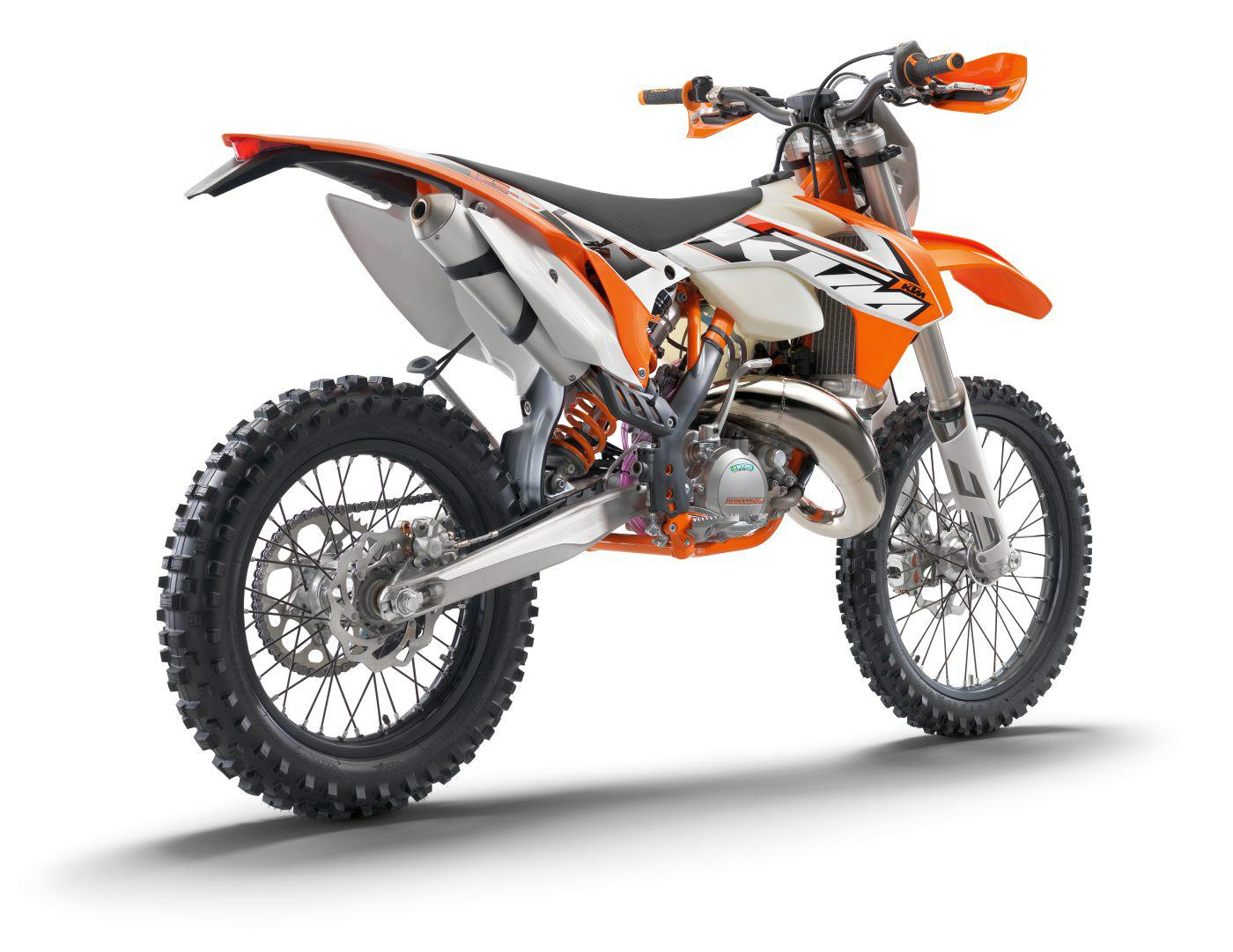 ktm exc enduros 2015 modellnews. Black Bedroom Furniture Sets. Home Design Ideas