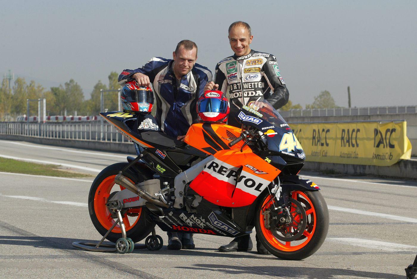Honda RC211V Test