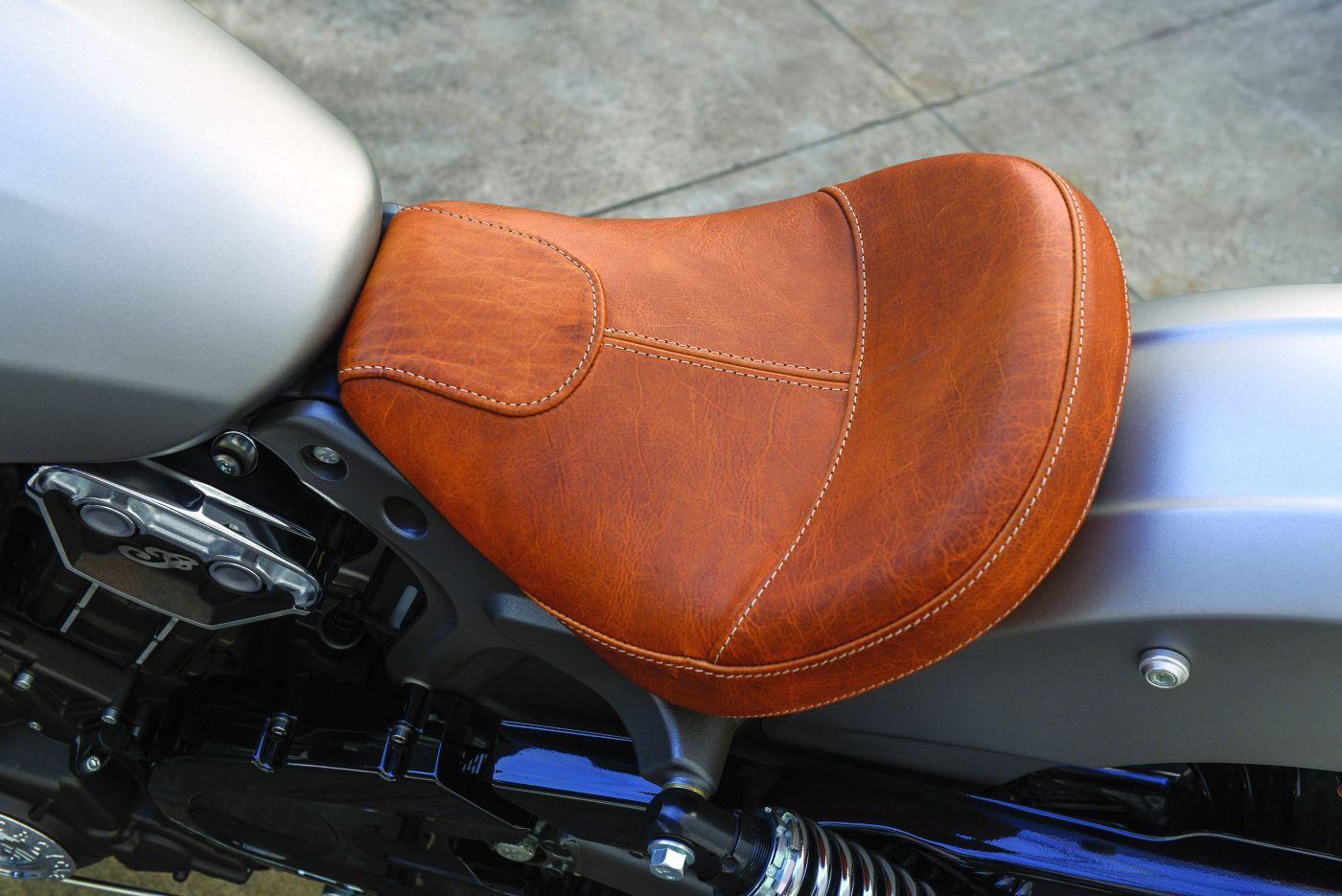 Cafe Racer Motorcycle Grips Tan