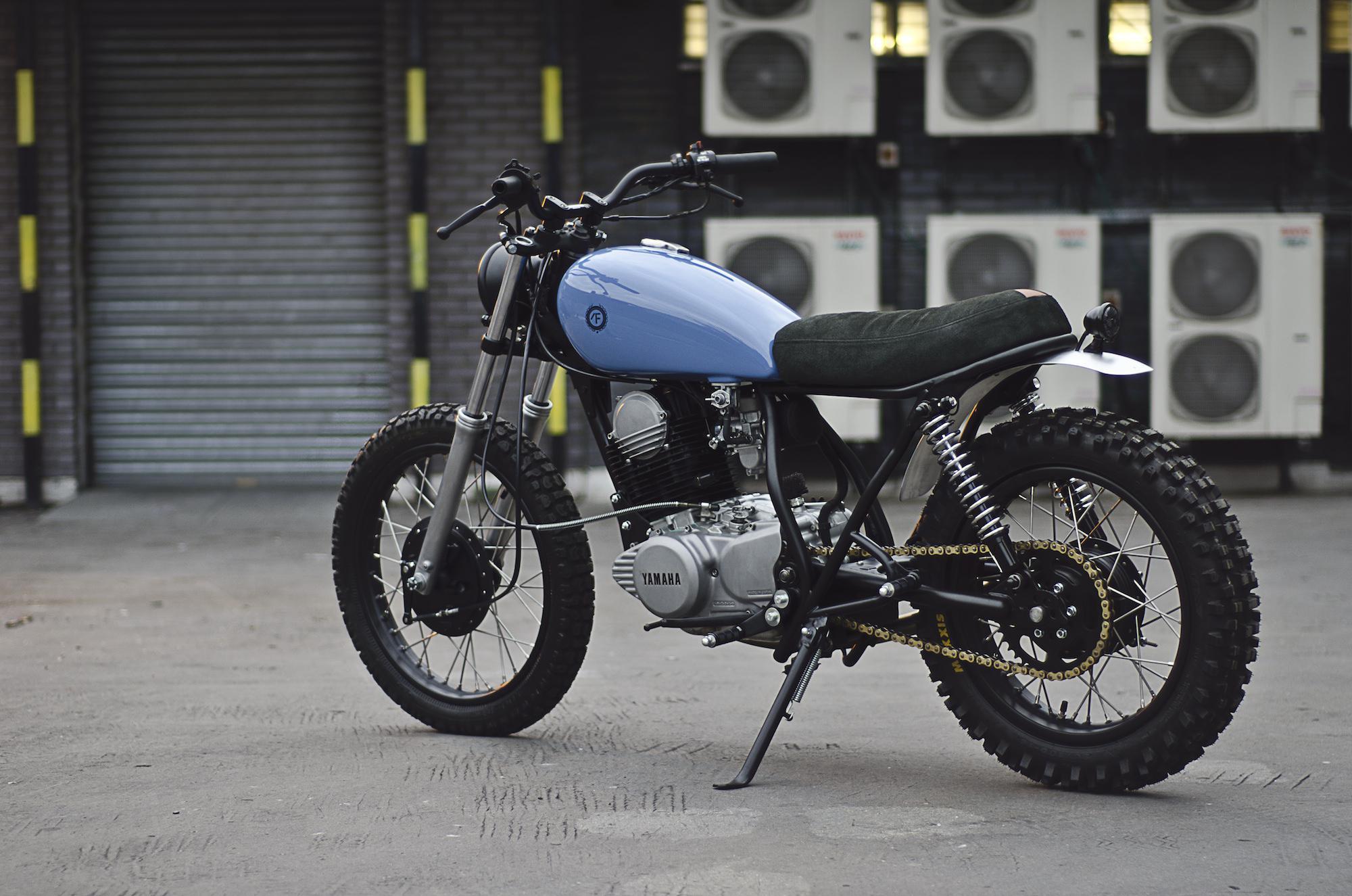 yamaha sr500 by auto fabrica motorrad fotos motorrad bilder. Black Bedroom Furniture Sets. Home Design Ideas