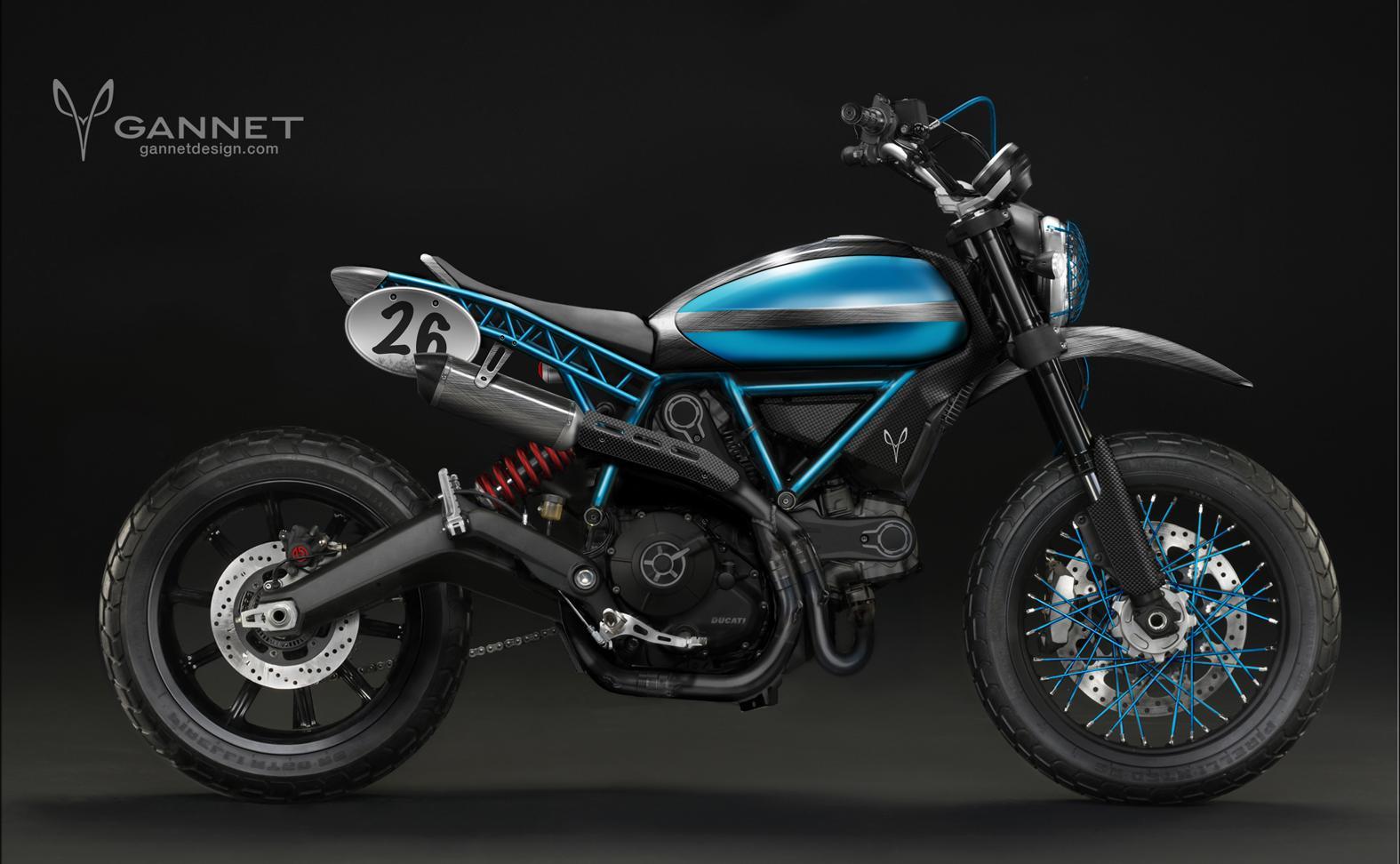 Ducati Monster  Wire Wheels