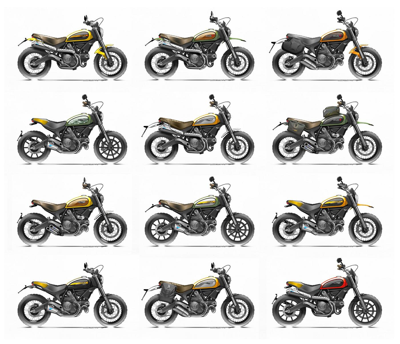 ducati scrambler 2015 erster test motorrad fotos. Black Bedroom Furniture Sets. Home Design Ideas