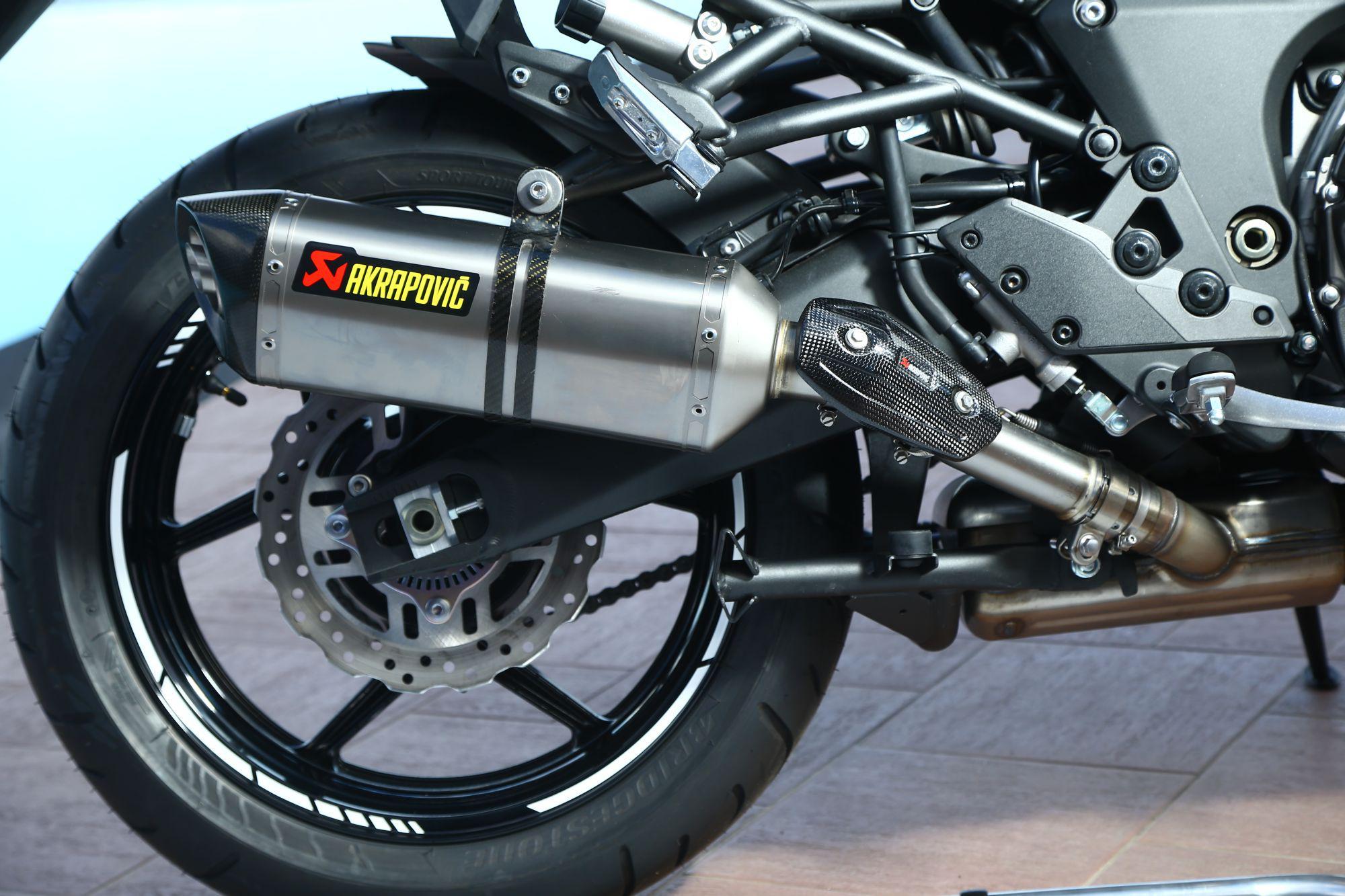 Kawasaki Versys Test