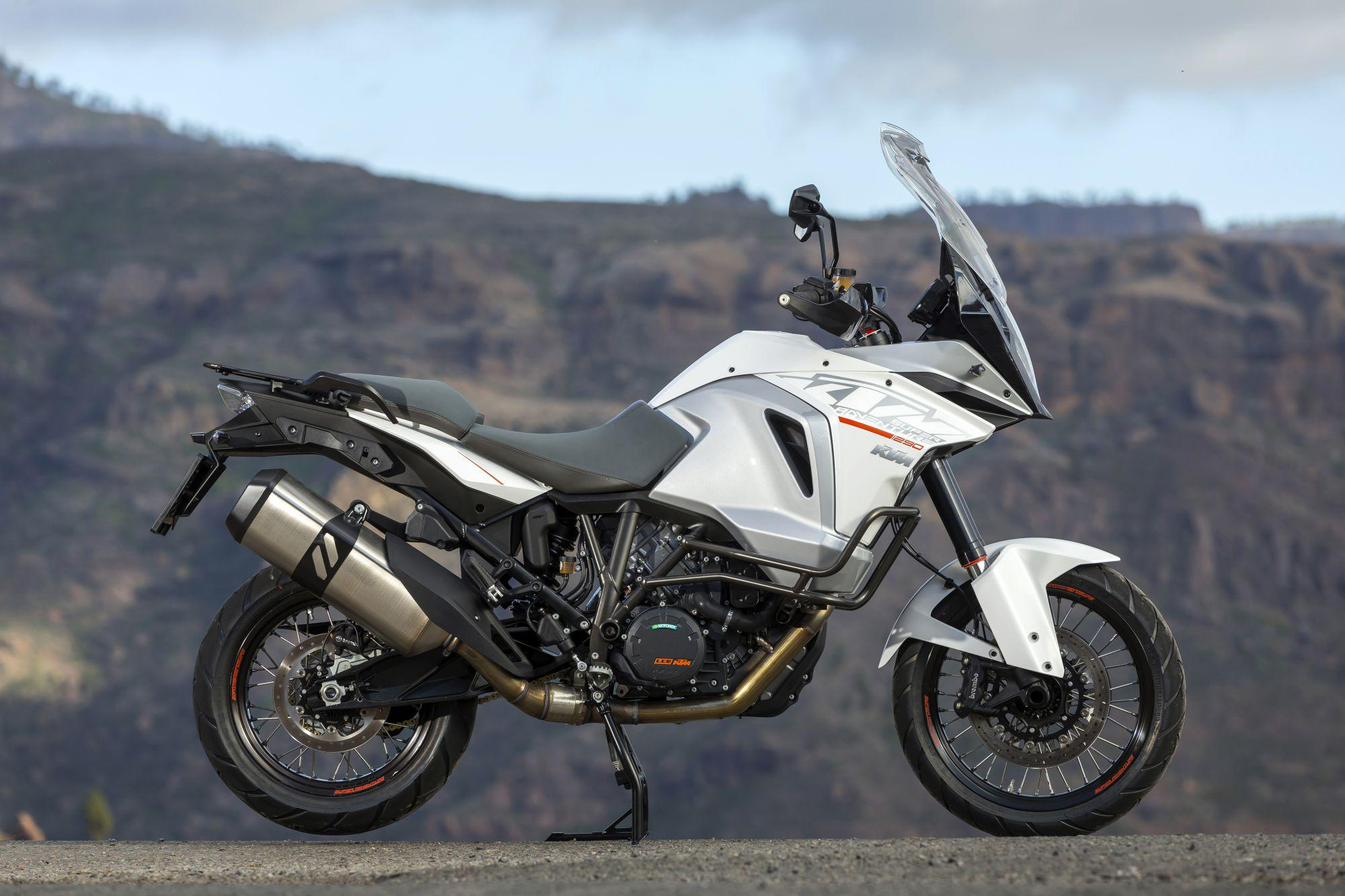 KTM 1290 Super Adventure 2015 Test Foto
