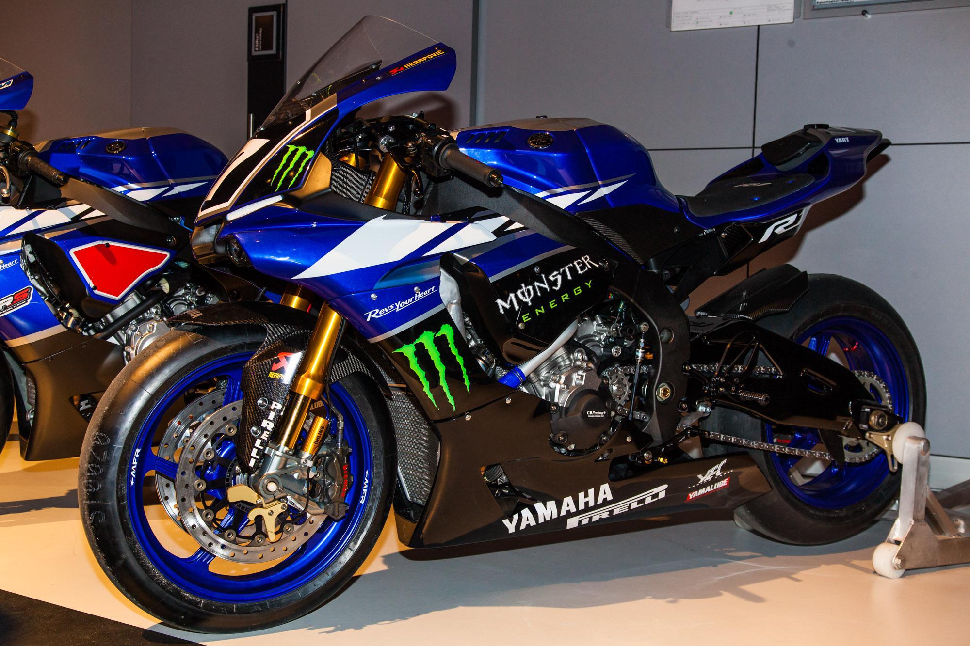 Yamaha Factory Teams 2015 Pr 228 Sentation Motorrad Fotos
