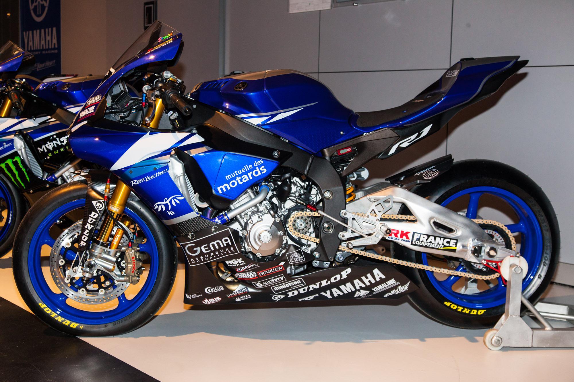 Yamaha YZF-R1 Factory Racing Teams 2015 Motorrad Fotos ...