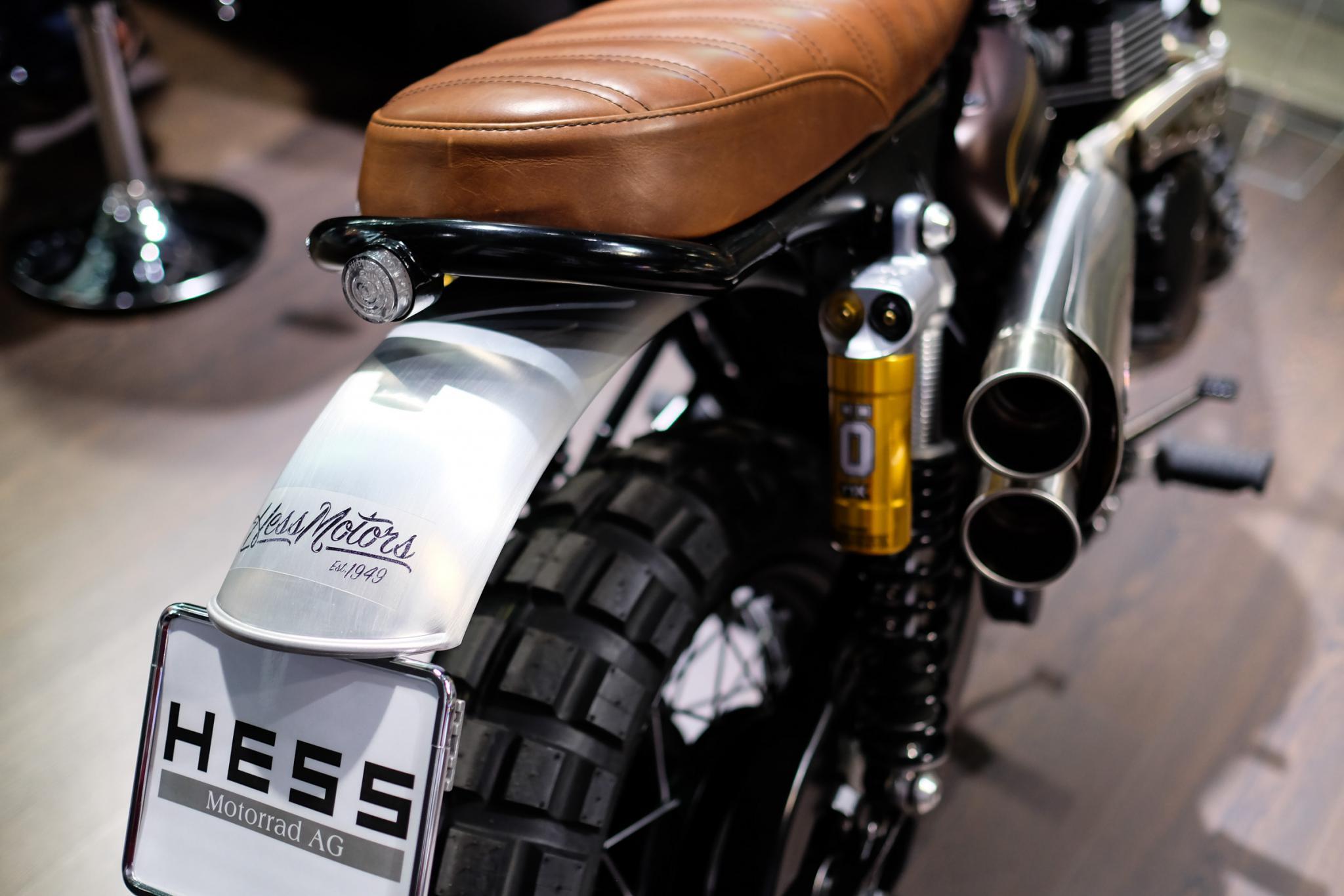 Triumph Umbauten By HESS Motorrad Fotos & Motorrad Bilder