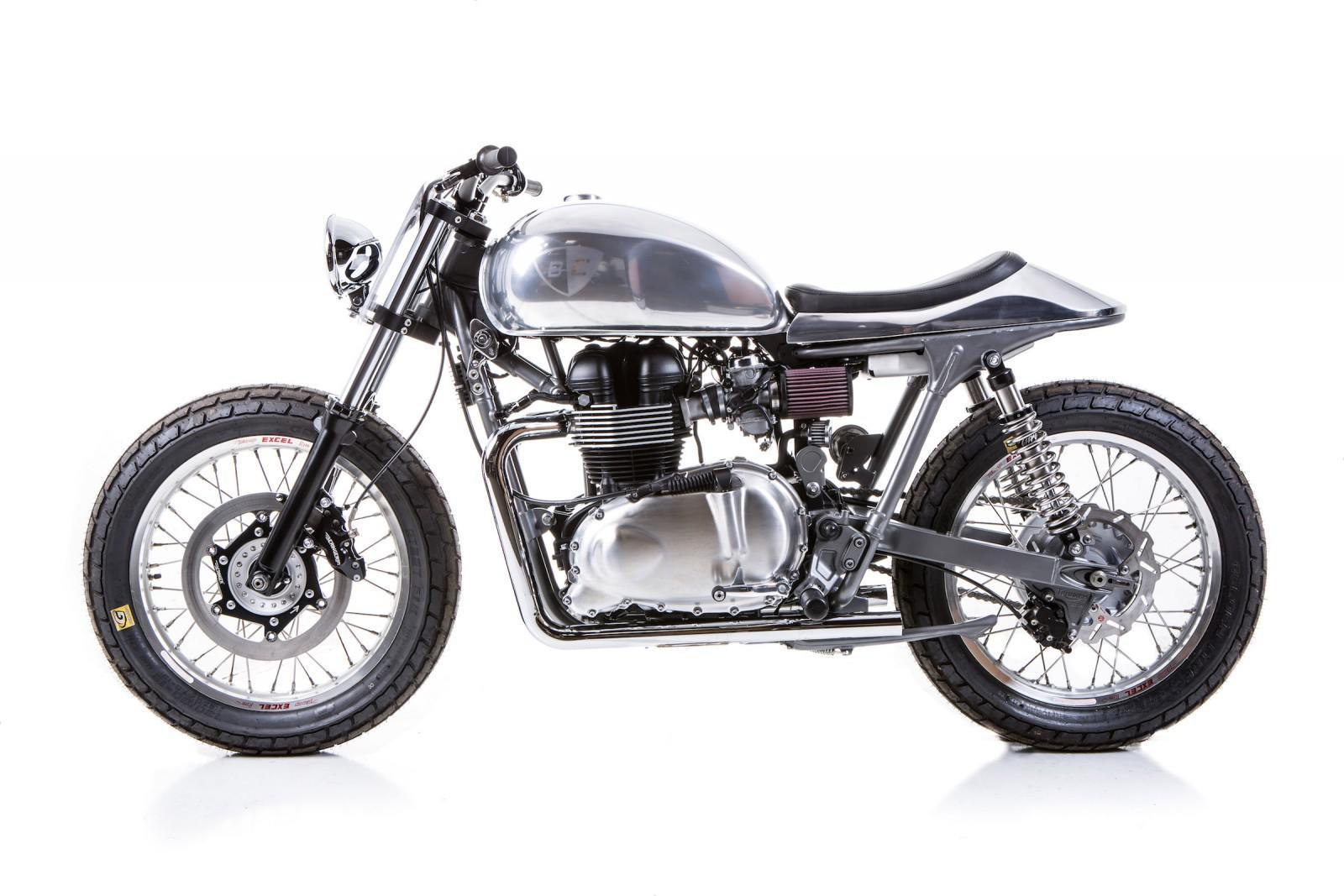 triumph bonneville british customs motorrad fotos. Black Bedroom Furniture Sets. Home Design Ideas