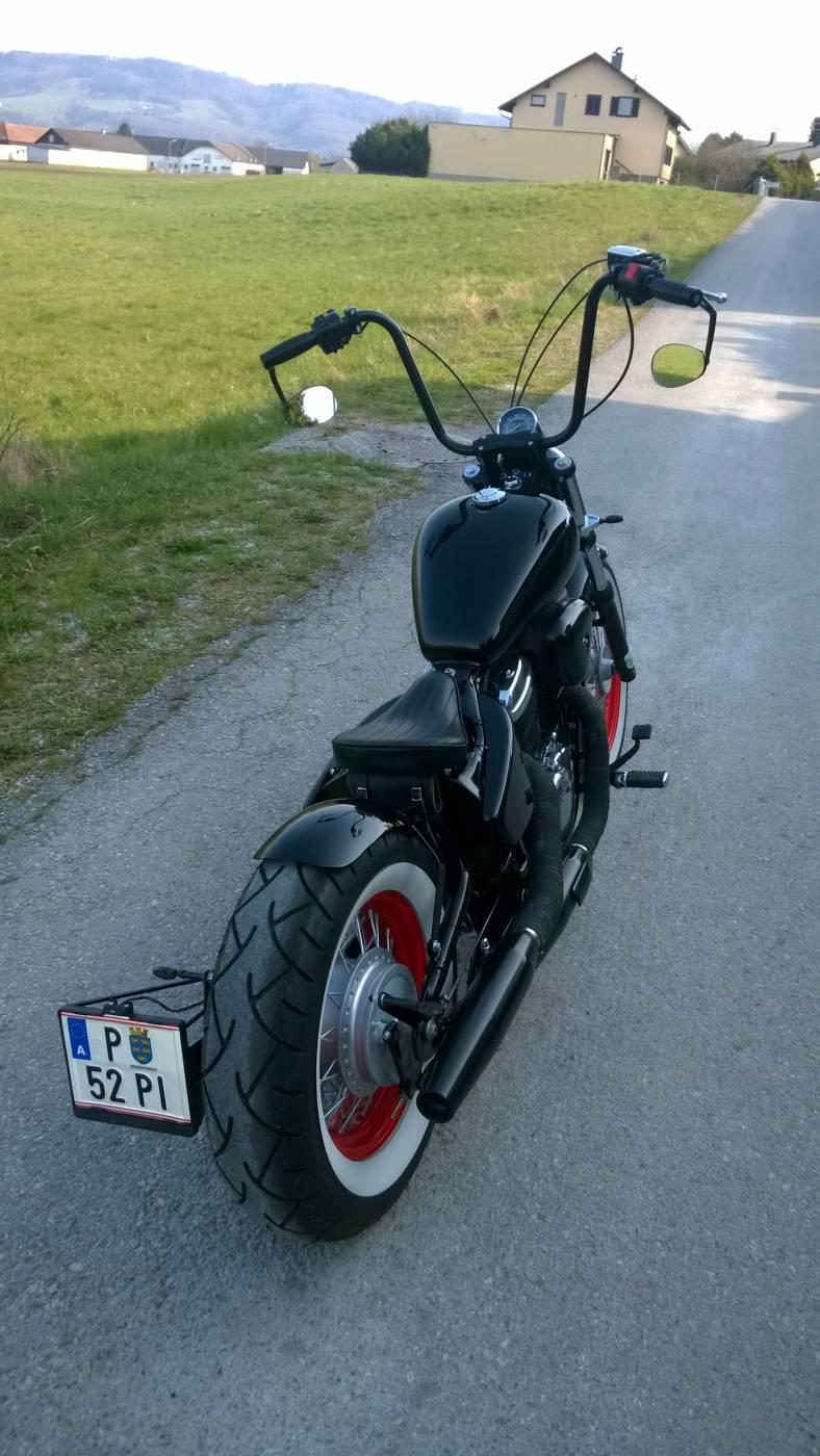 bobber umbau honda shadow vt600 motorrad fotos motorrad. Black Bedroom Furniture Sets. Home Design Ideas