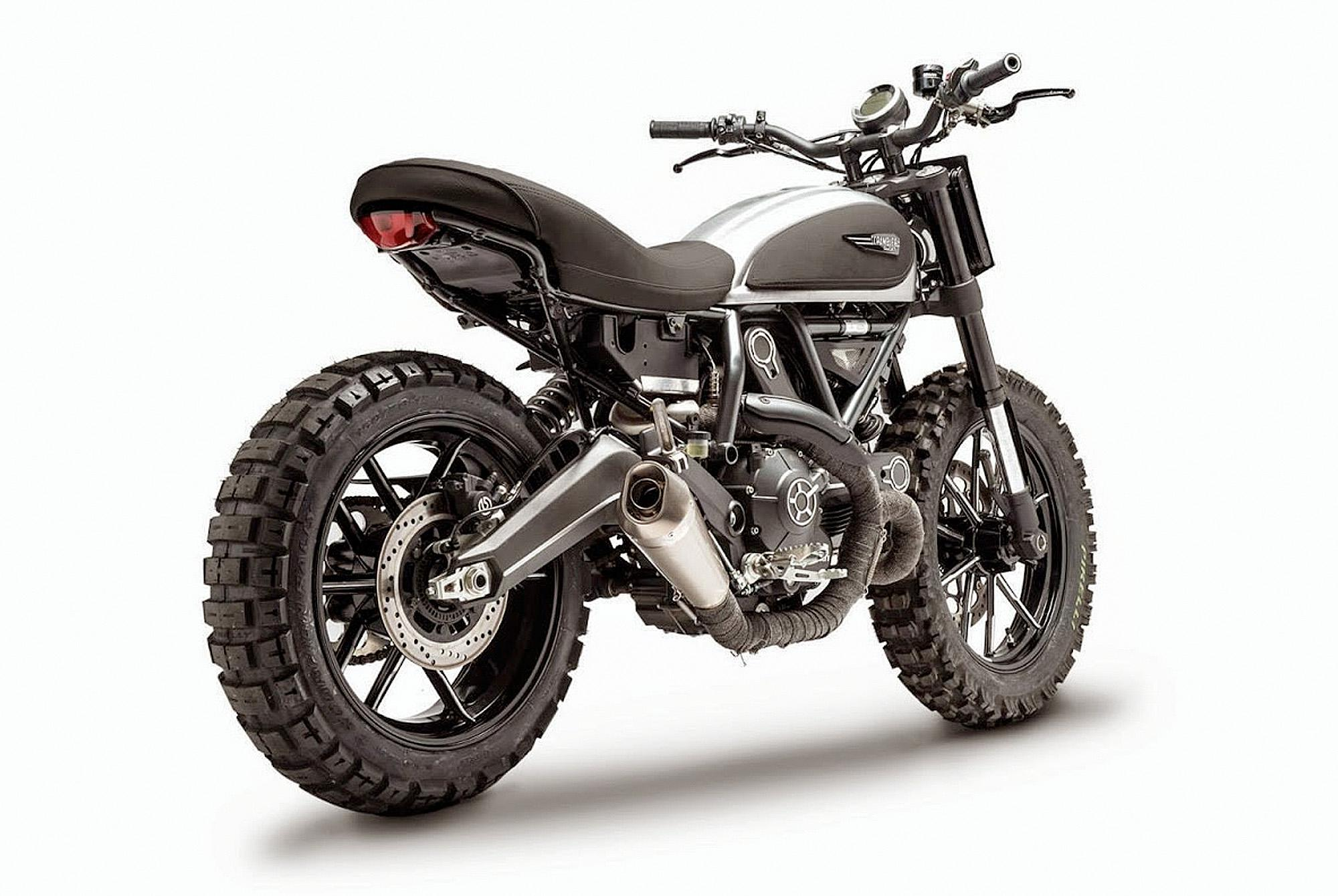 ducati scrambler rocket garage dirt tracker motorrad fotos. Black Bedroom Furniture Sets. Home Design Ideas