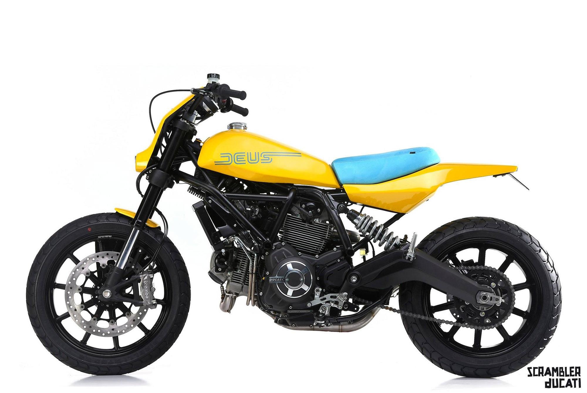 ducati scrambler deus ex machina motorrad fotos motorrad. Black Bedroom Furniture Sets. Home Design Ideas