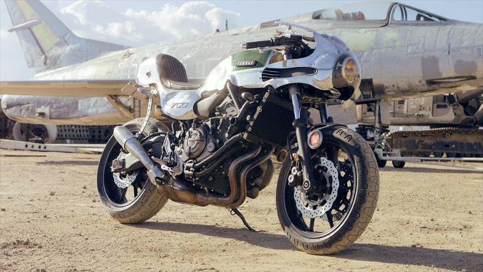 Shinya Kimura Yamaha MT07 Faster Son Foto