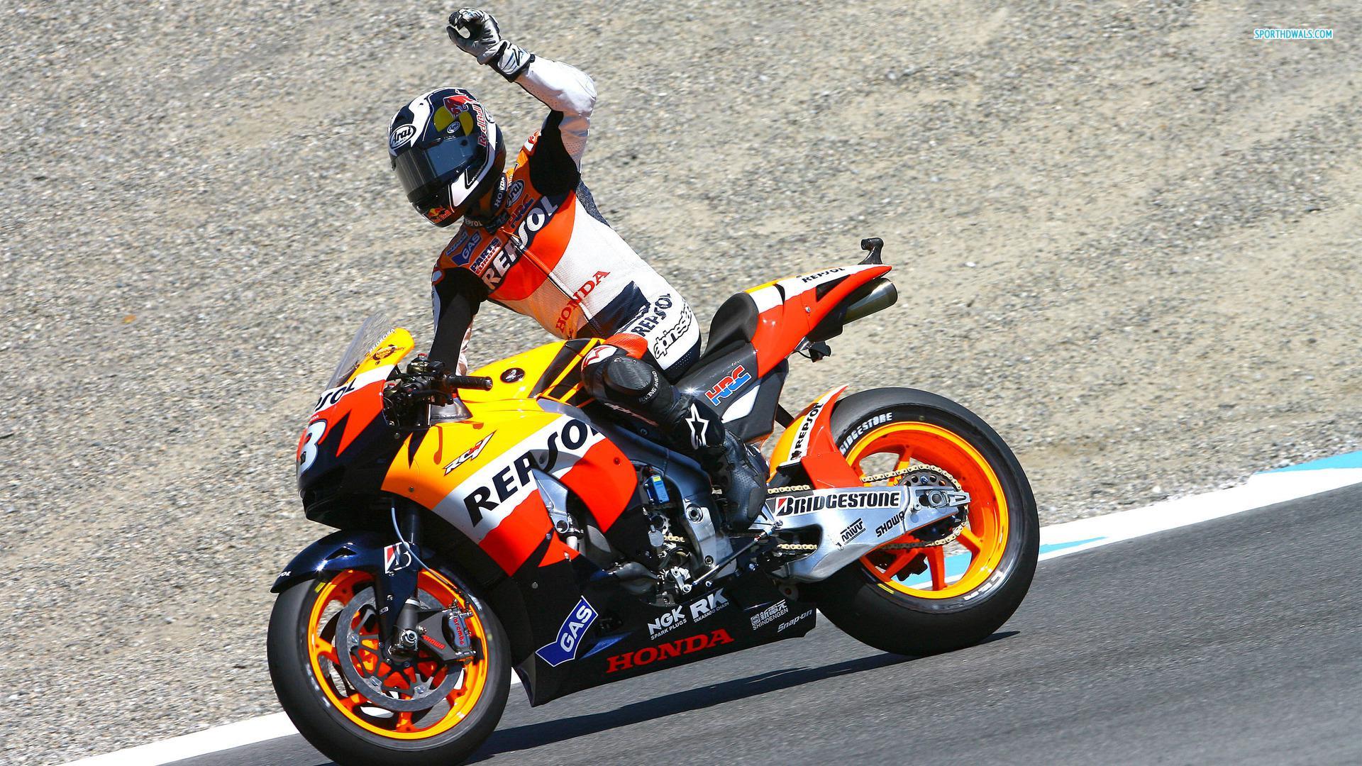 Motorrad Rennfahrer