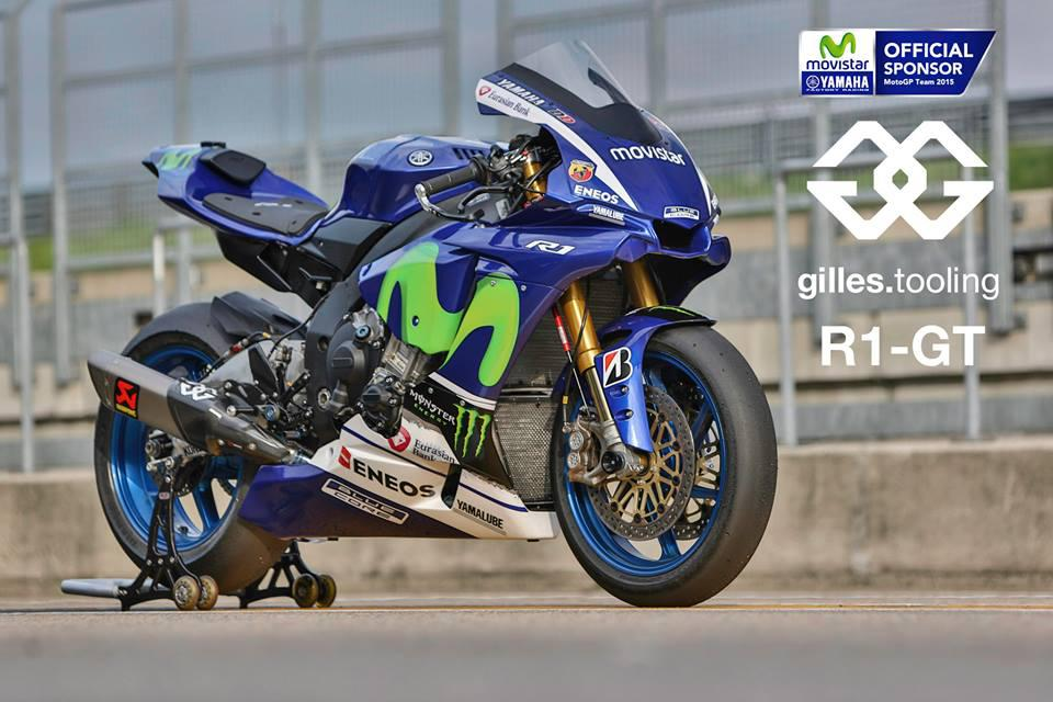 Yamaha R Race Replica Sticker Kit