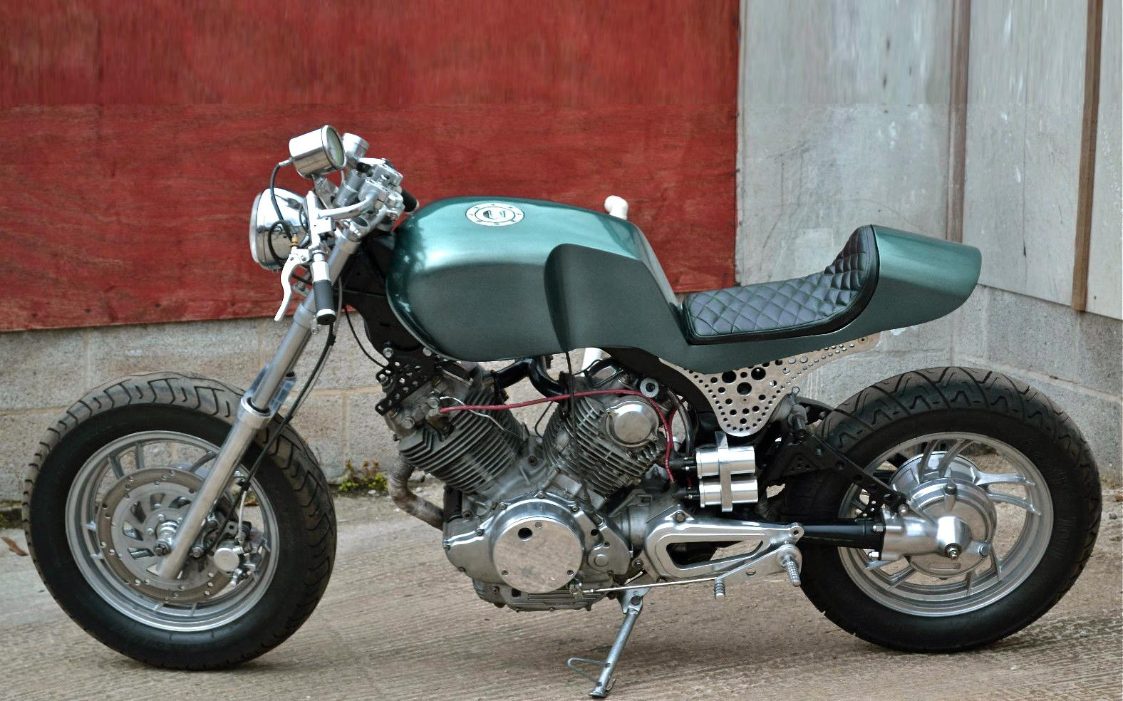 yamaha xv750 monocoque cafe racer motorrad fotos. Black Bedroom Furniture Sets. Home Design Ideas