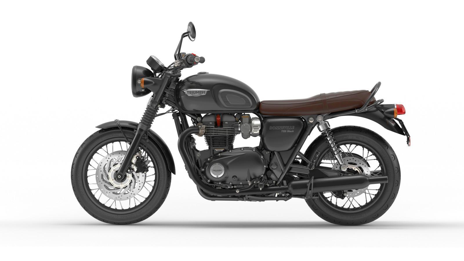 triumph bonneville t120 und t120 black 2016 motorrad fotos. Black Bedroom Furniture Sets. Home Design Ideas