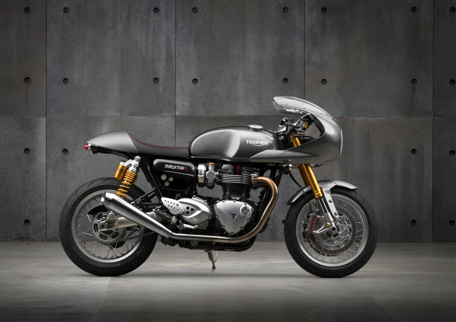 triumph thruxton und thruxton r 2016. Black Bedroom Furniture Sets. Home Design Ideas