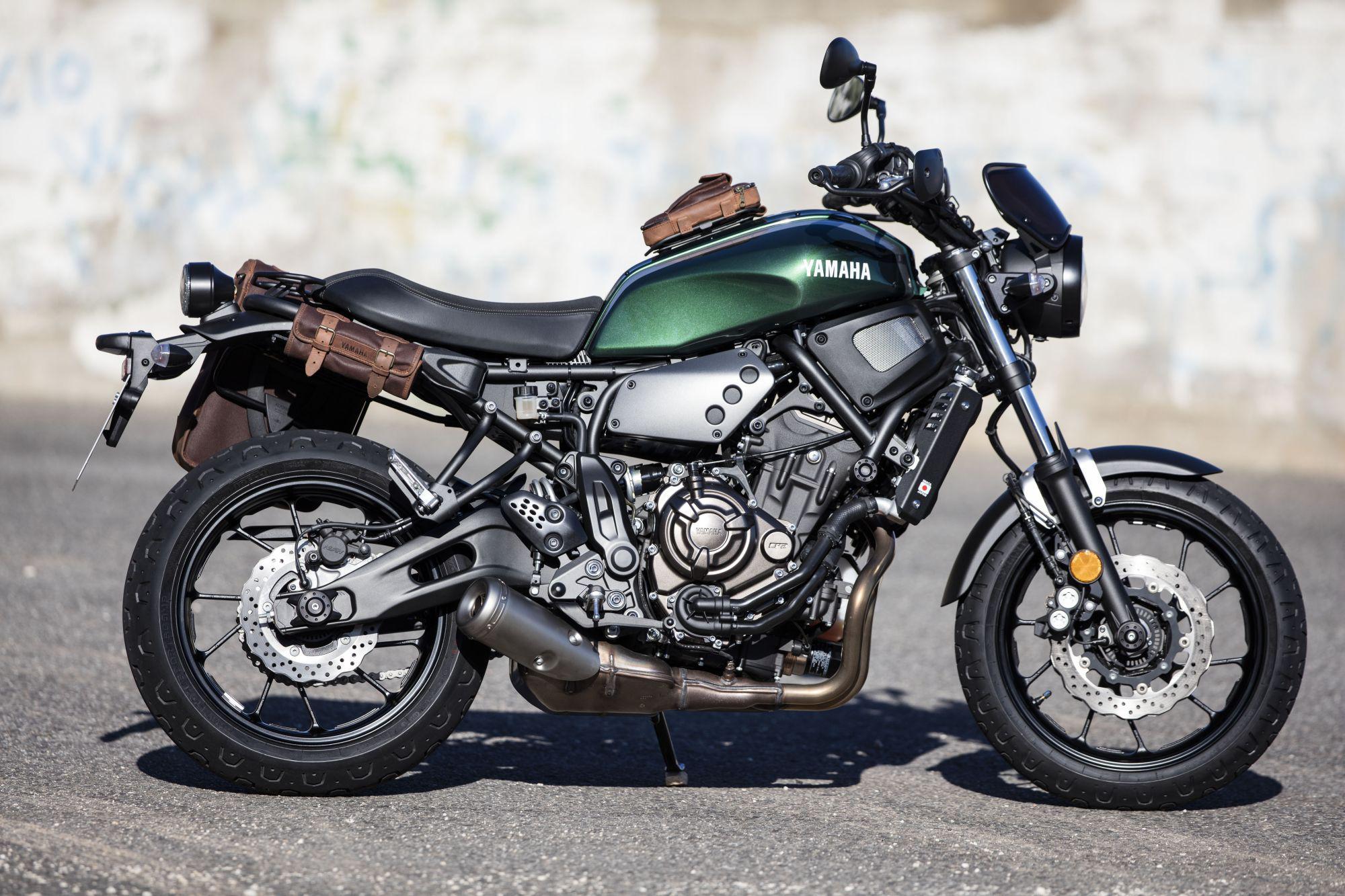 Yamaha XSR700 2016 Test
