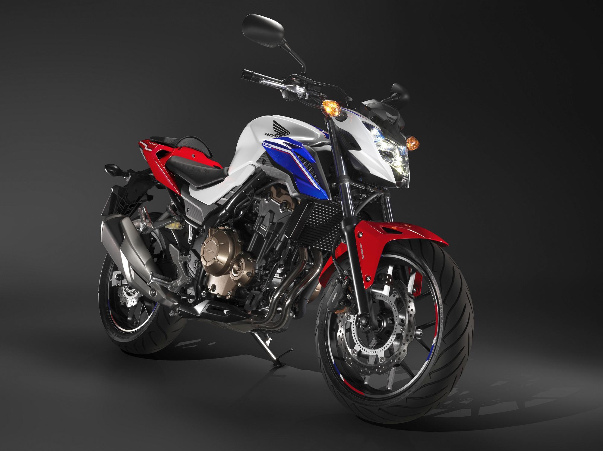 """CB500F é a naked do trio de """"quinhentas"""" da Honda que chega em junho"""