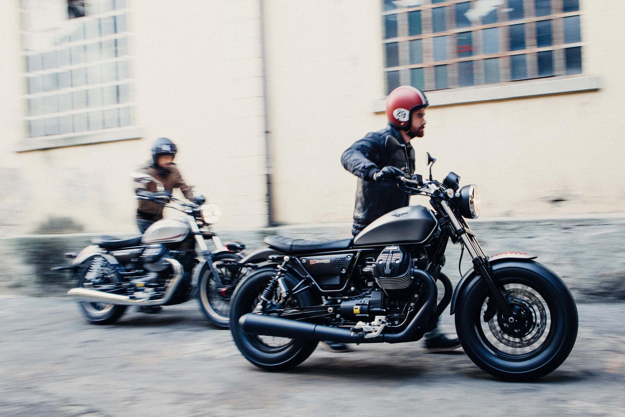 Moto Guzzi V Vs Ducati Scrambler