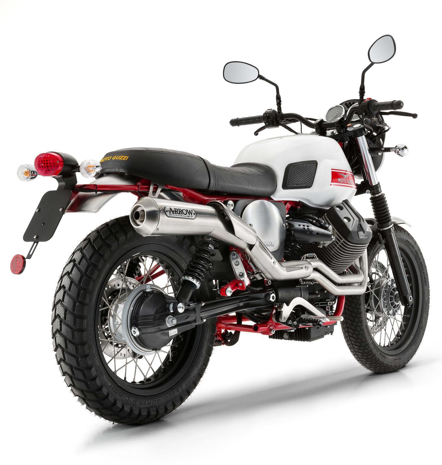 Moto-Guzzi 750 V7 II Stornello 2016 - Fiche moto - Motoplanete