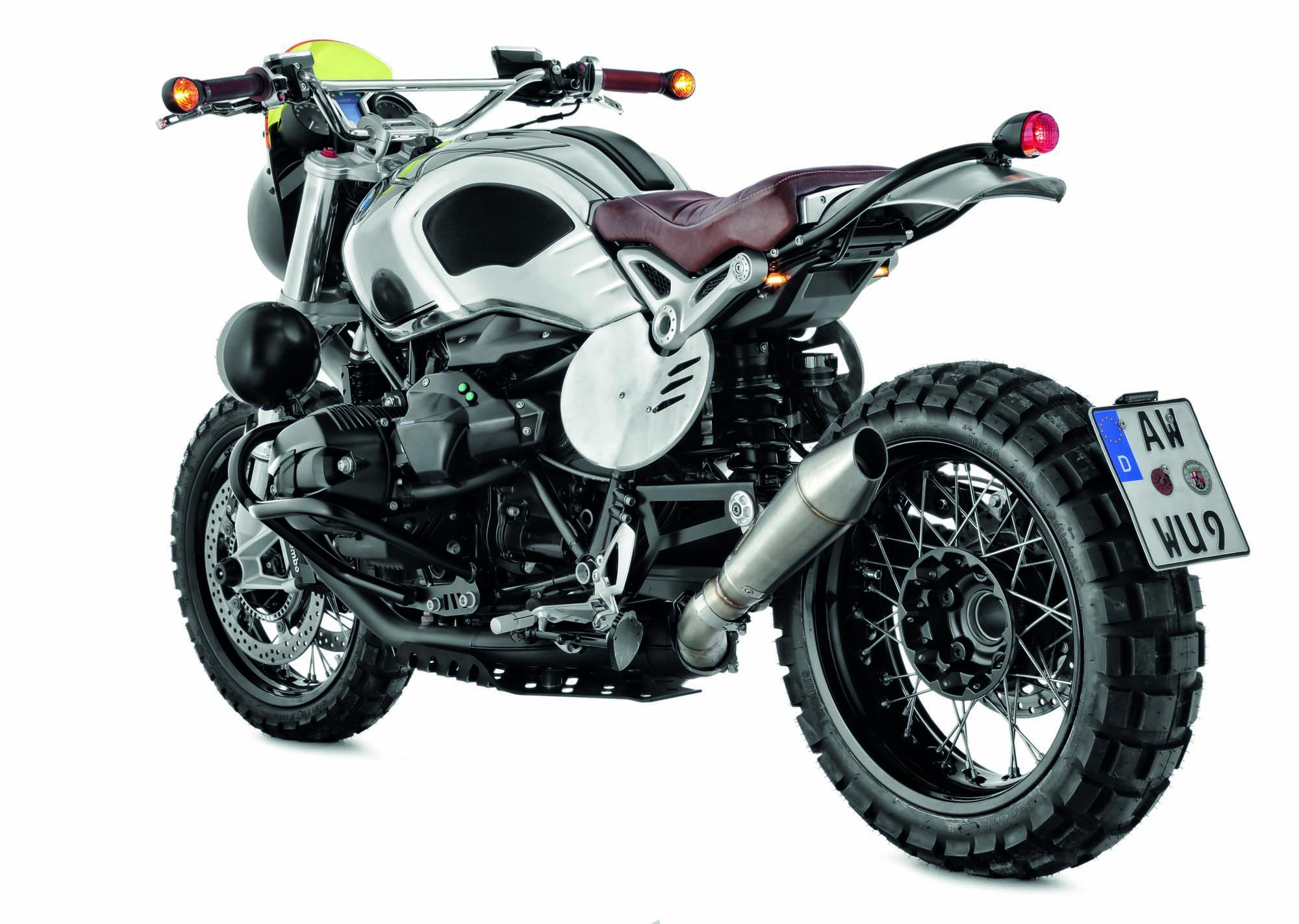 Wunderlich präsentiert den R nineT-Scrambler »Six Days« Motorrad ...