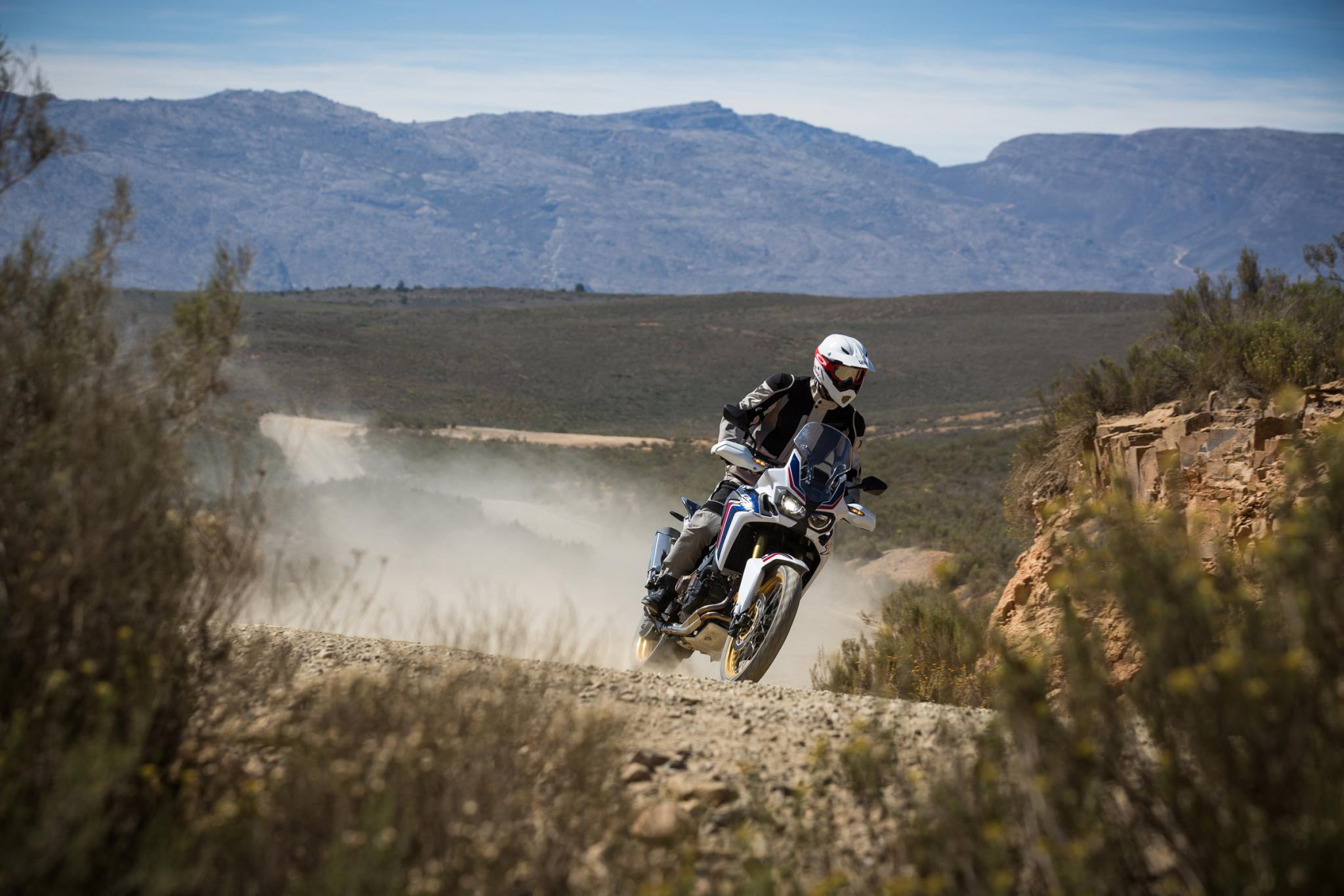 Honda Africa Twin 2016 Test Foto