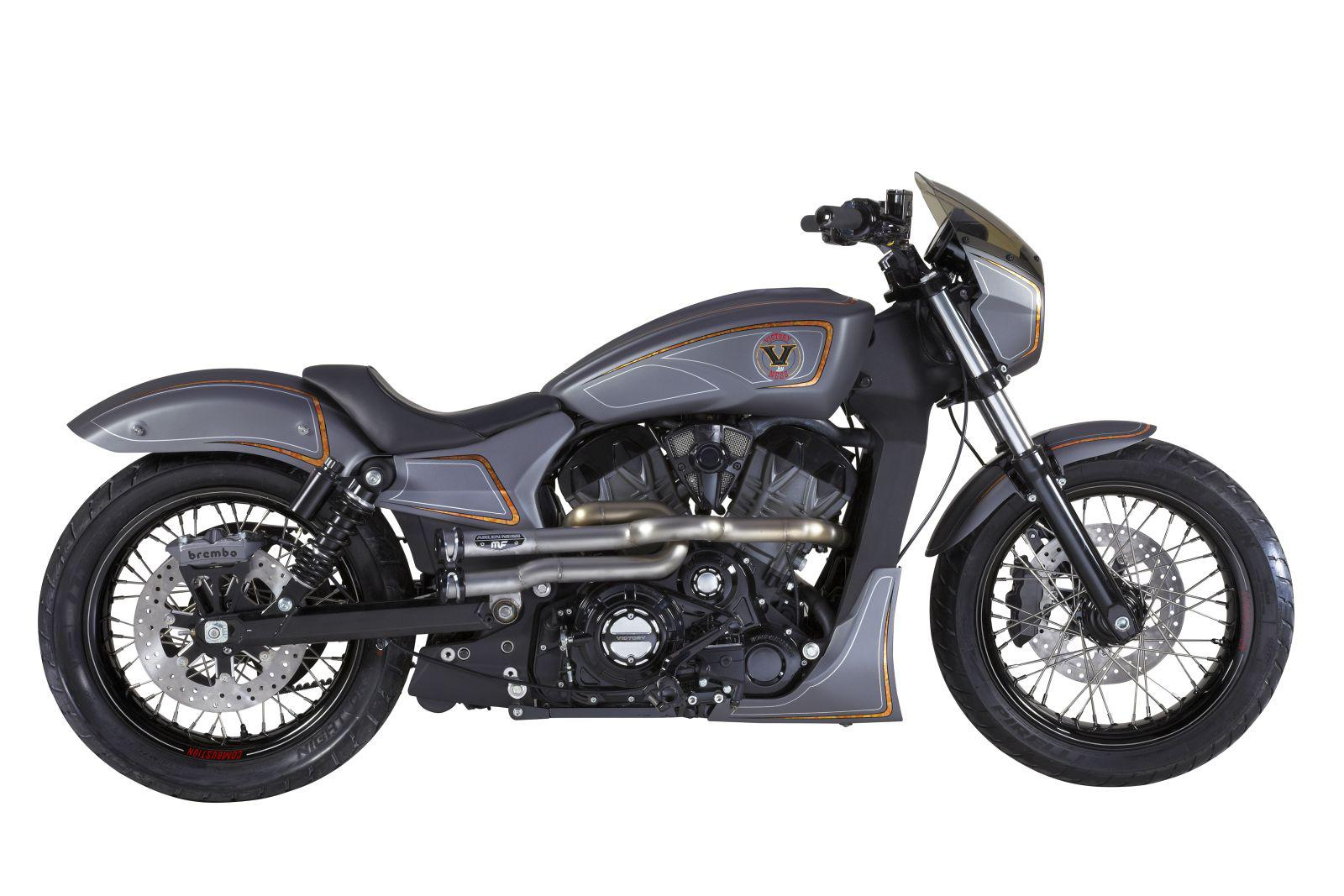 "Victory ""Combustion"" Custombike Zach Ness Foto"