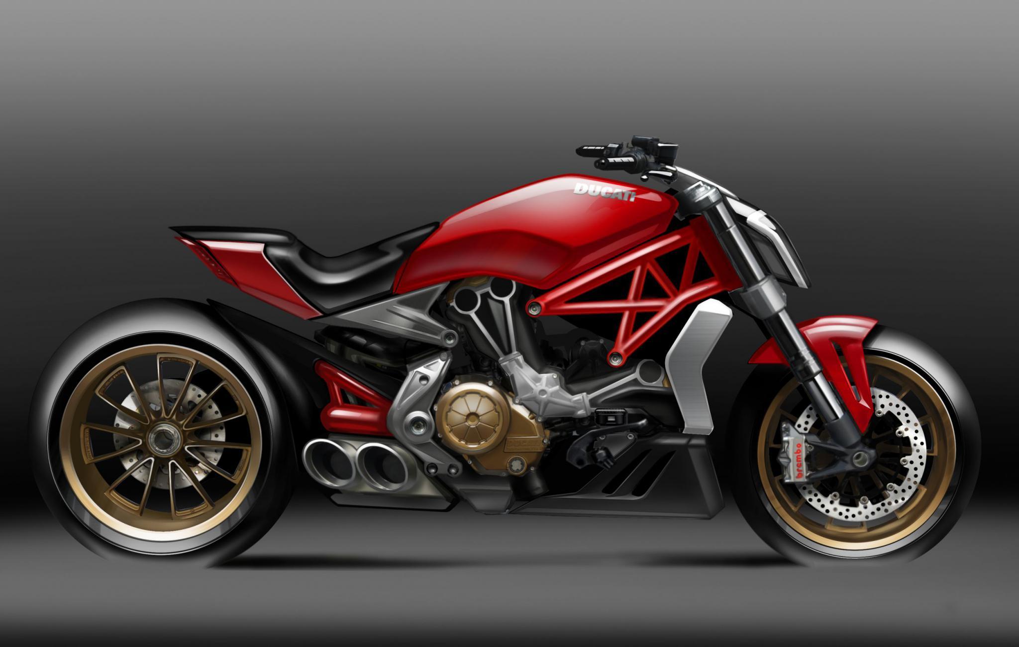Ducati  Red Frame