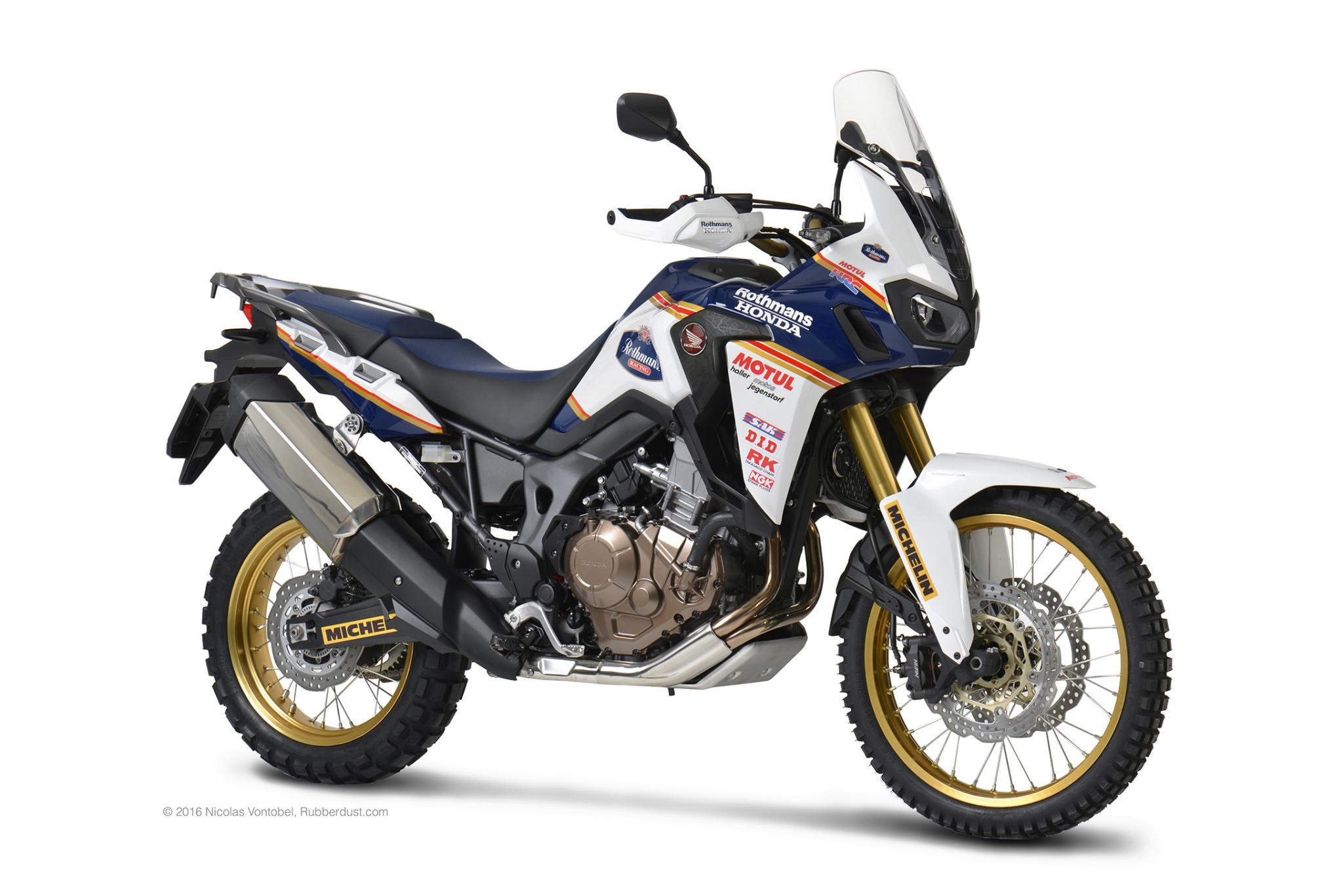 honda africa twin rothmans 2016. Black Bedroom Furniture Sets. Home Design Ideas