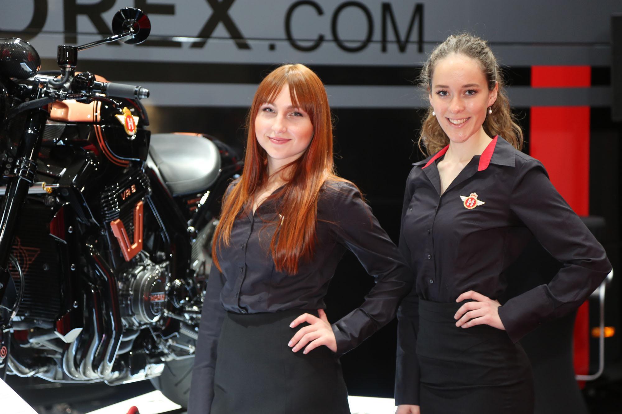 Motorräder Dortmund 2016 Highlights Girls Impressionen Foto