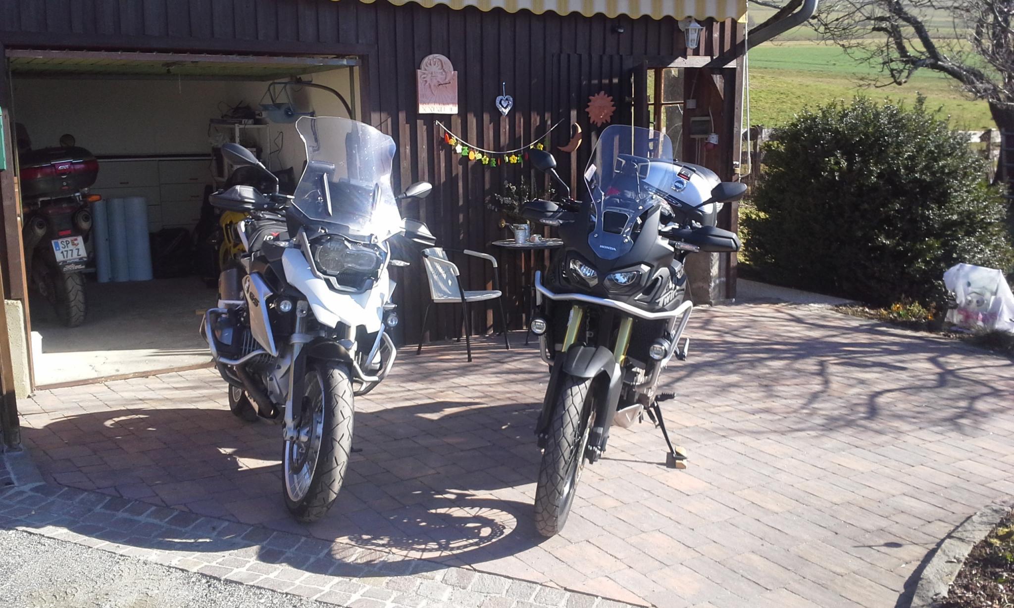 2000 km Kroatien Trip BMW R1200GS LC und Honda CRF1000L Africa Twin Foto