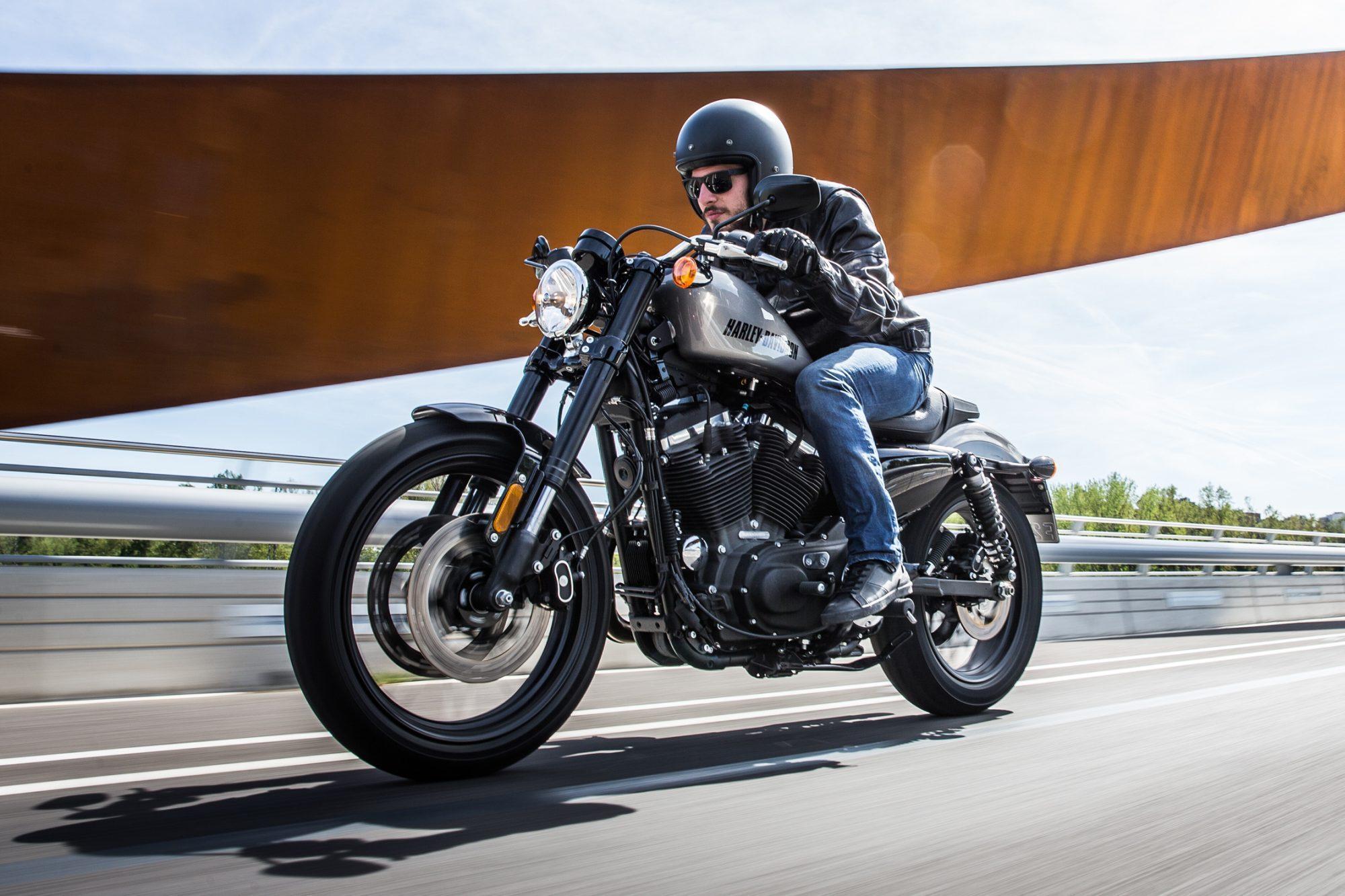 Harley Davidson  Roadster Test