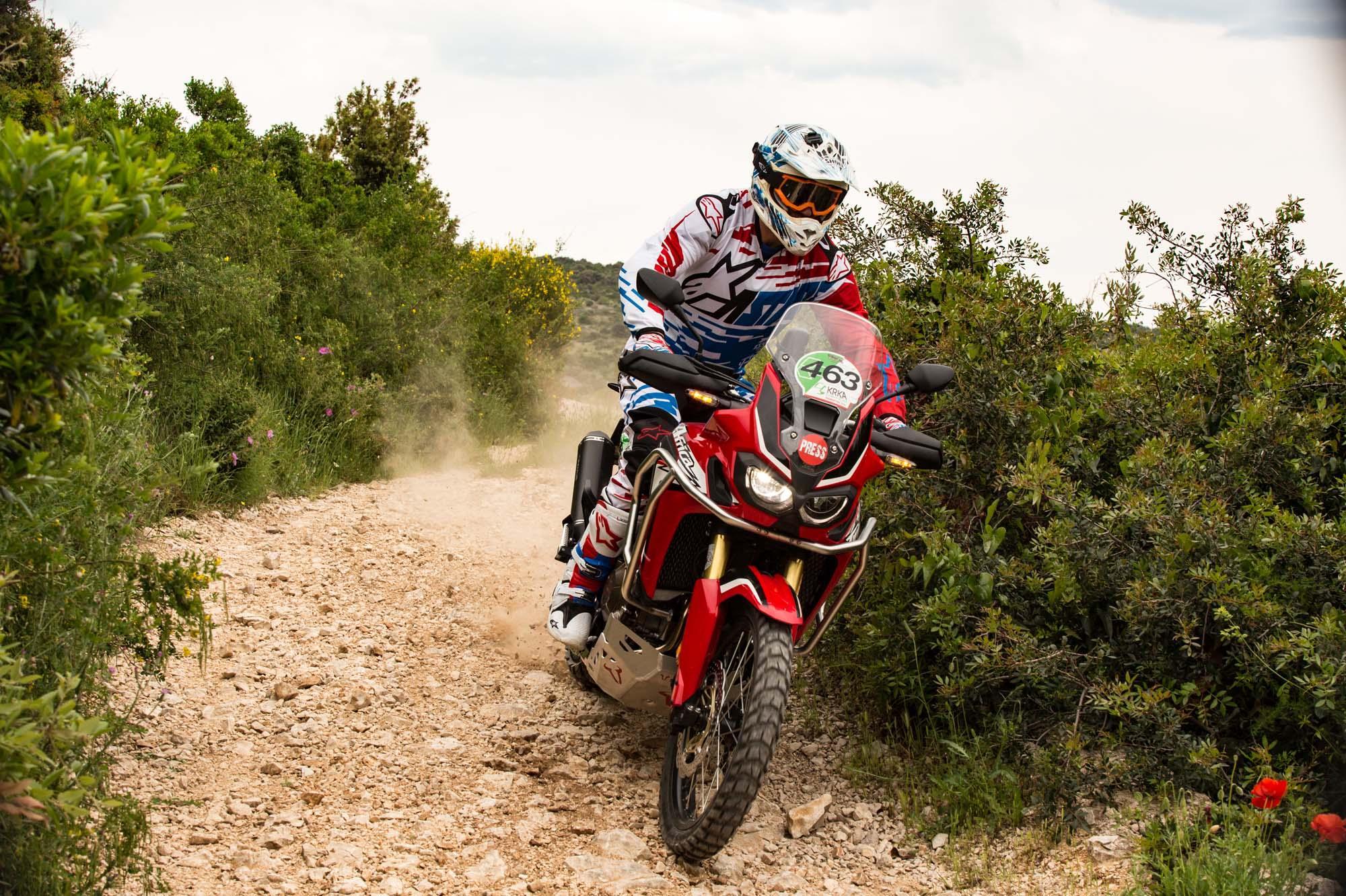 Krka Enduro Raid Primosten 2016 mit der Honda Africa Twin Foto