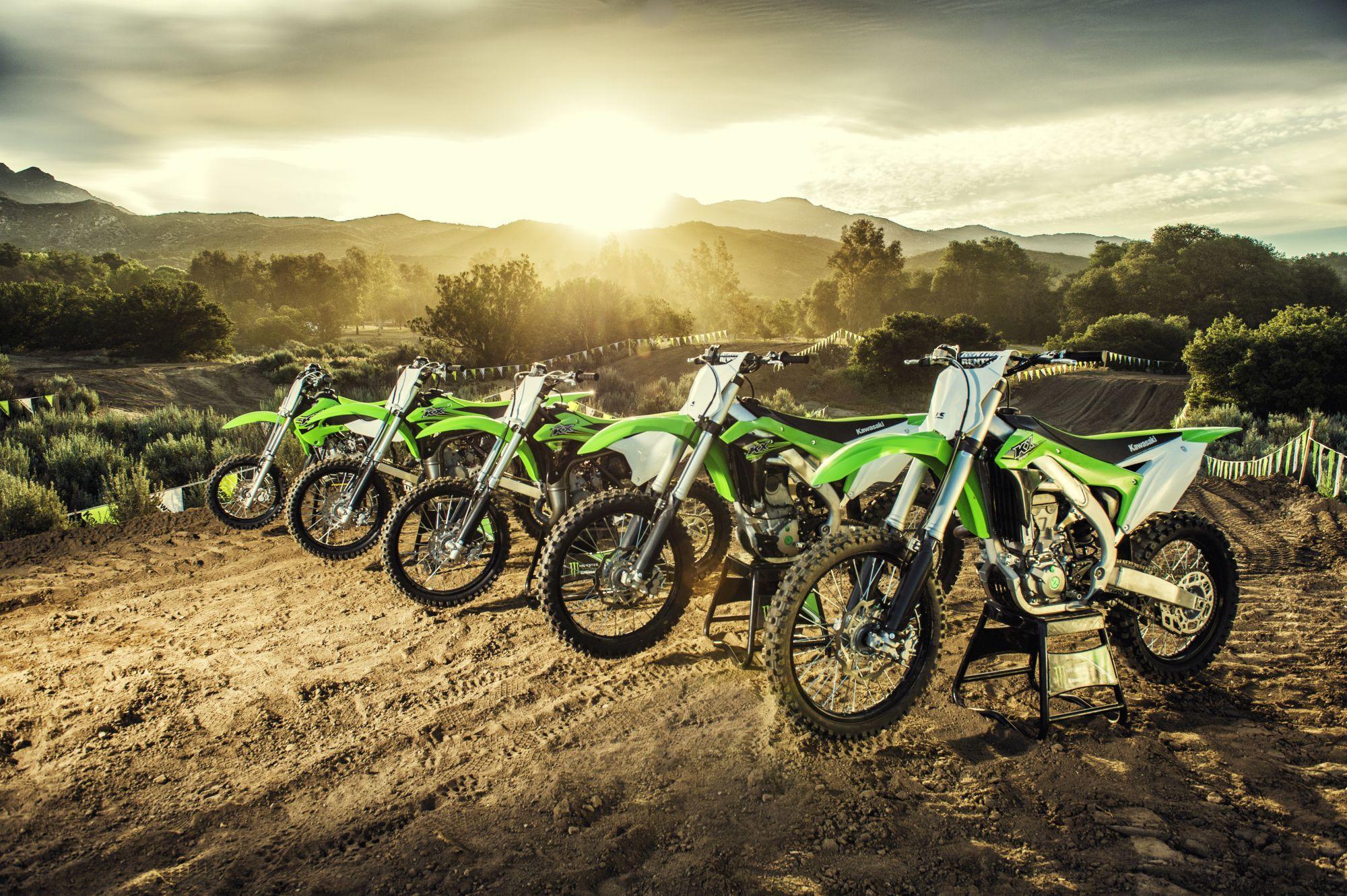 Kawasaki präsentiert die KX250F für 2017 Foto