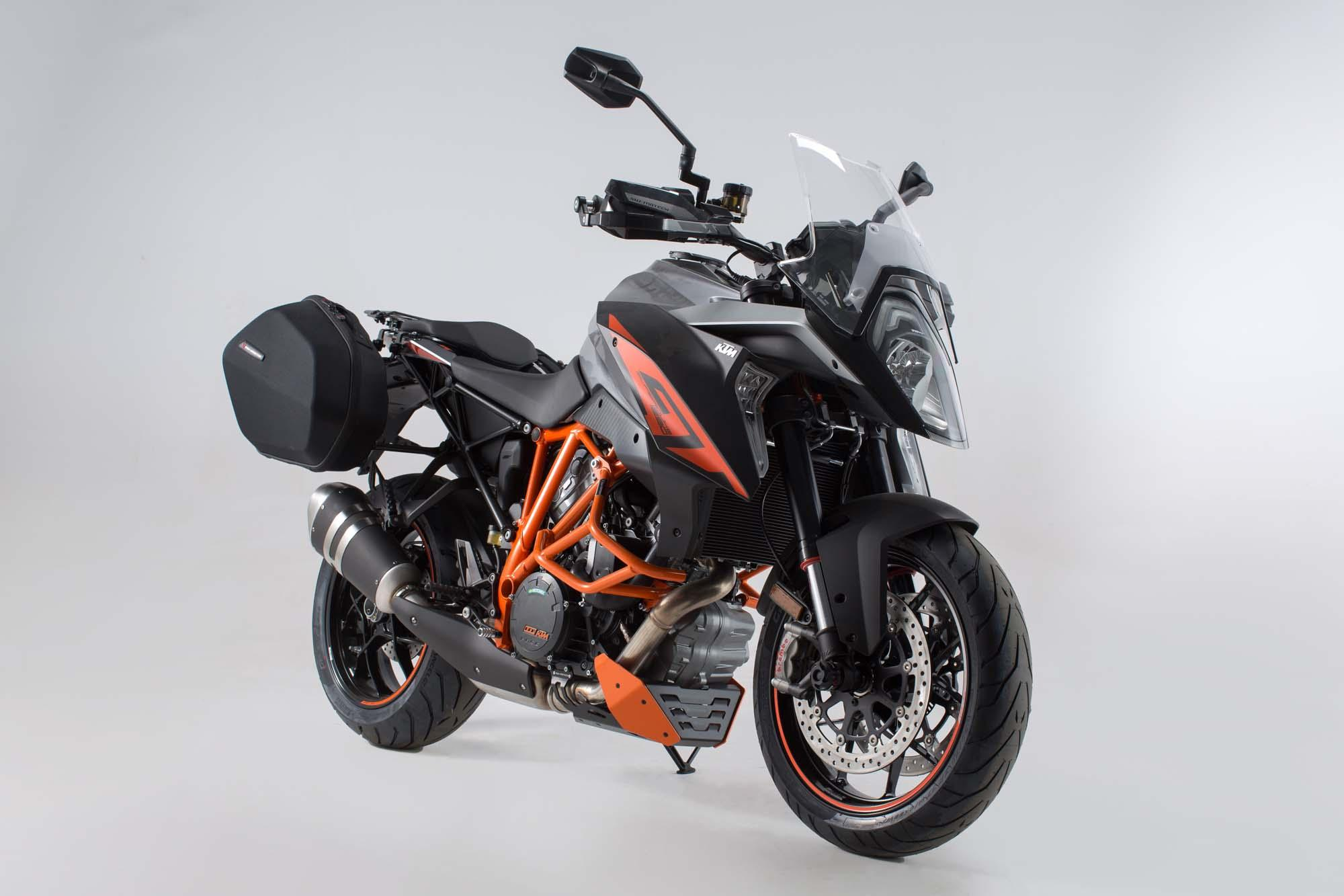 neues sw motech zubeh r f r die ktm 1290 super duke gt. Black Bedroom Furniture Sets. Home Design Ideas