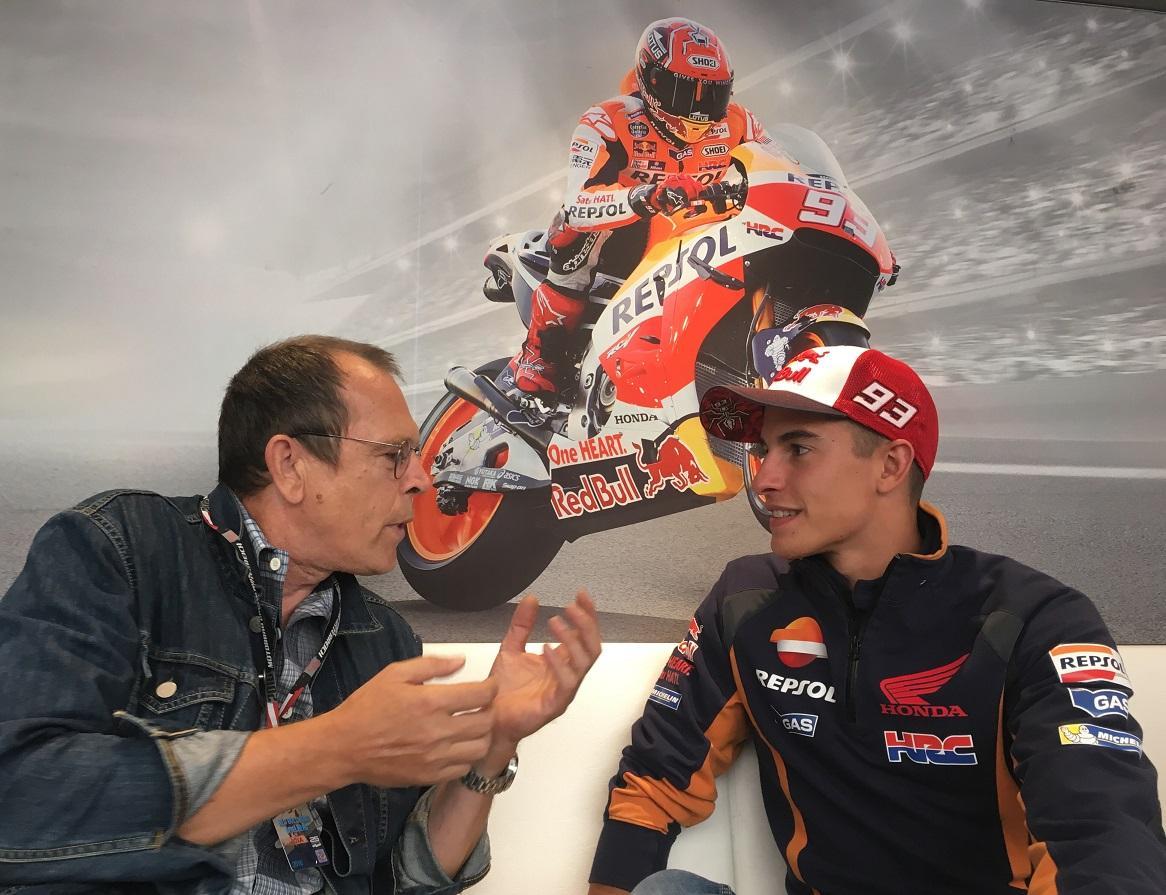 Zonko Interview mit Marc Marquez Foto