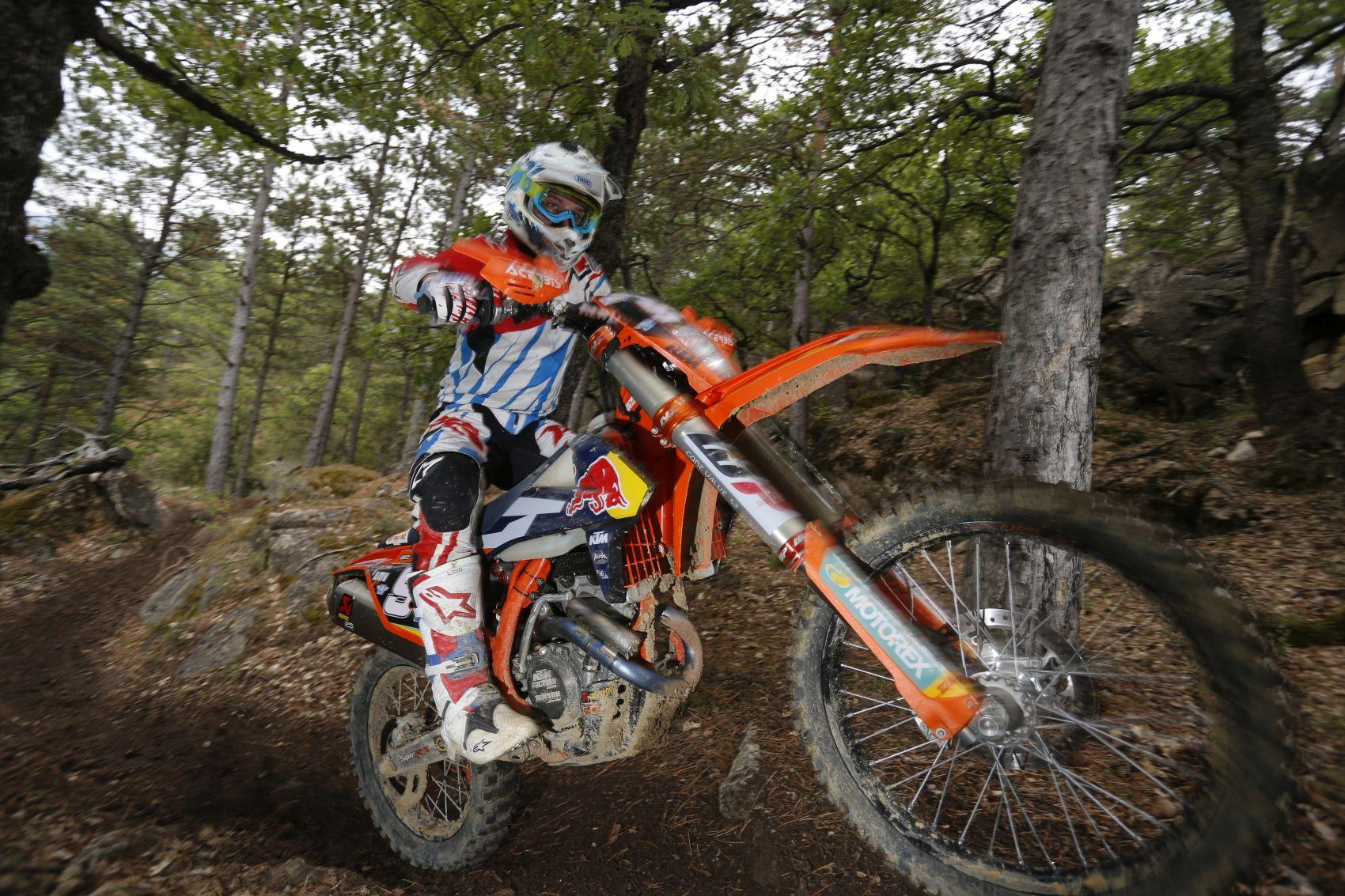 KTM Factory Enduro Test France 2016 Foto