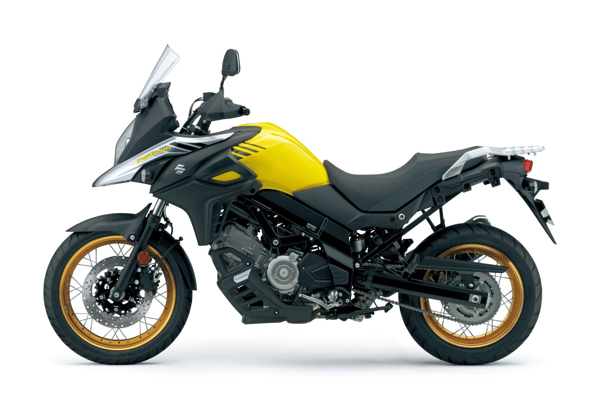 Suzuki V Strom Abs Test