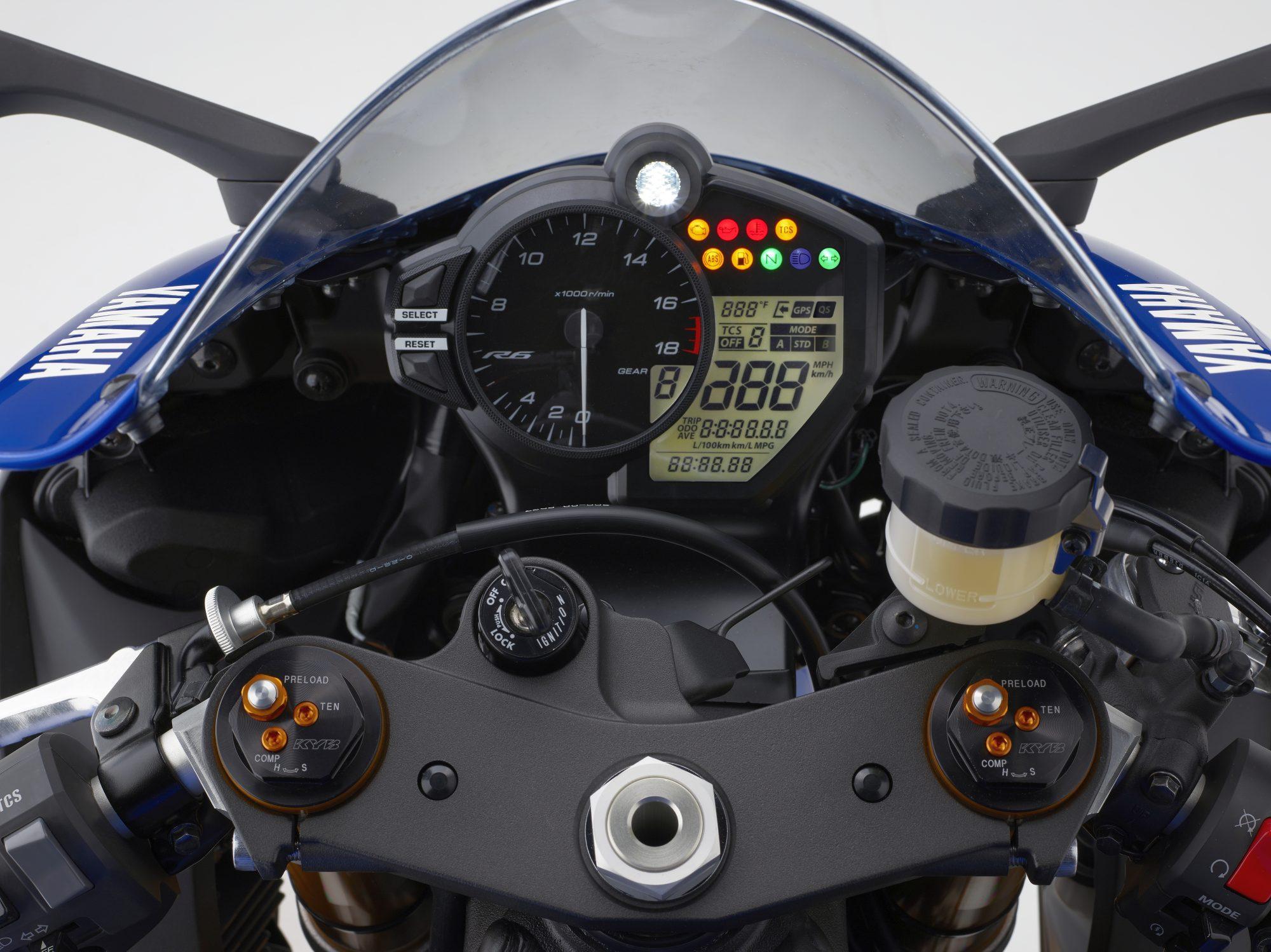 Yamaha YZF R6 2017 Test Mit Video Galerie Und Daten