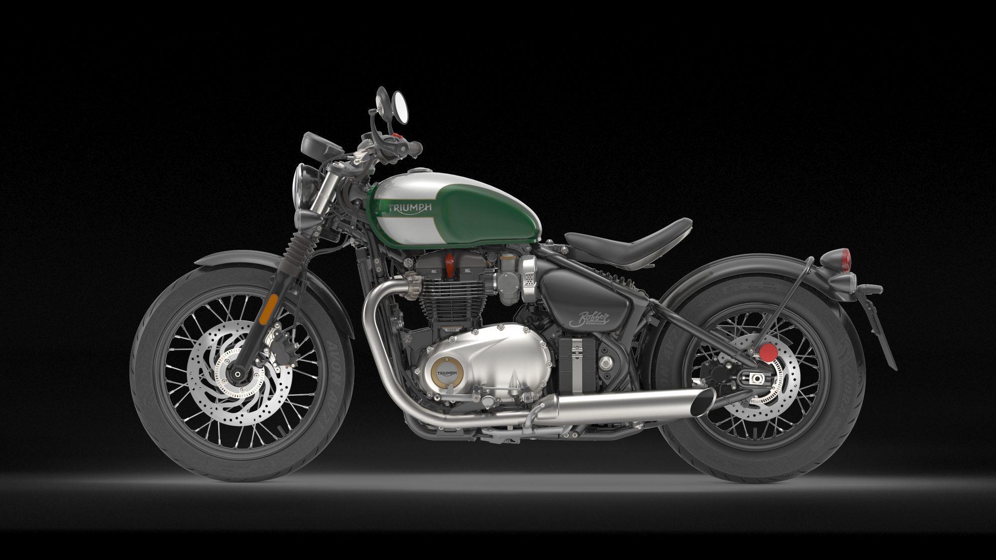 Triumph Bonneville Bobber 2017 Motorrad Fotos & Motorrad ...
