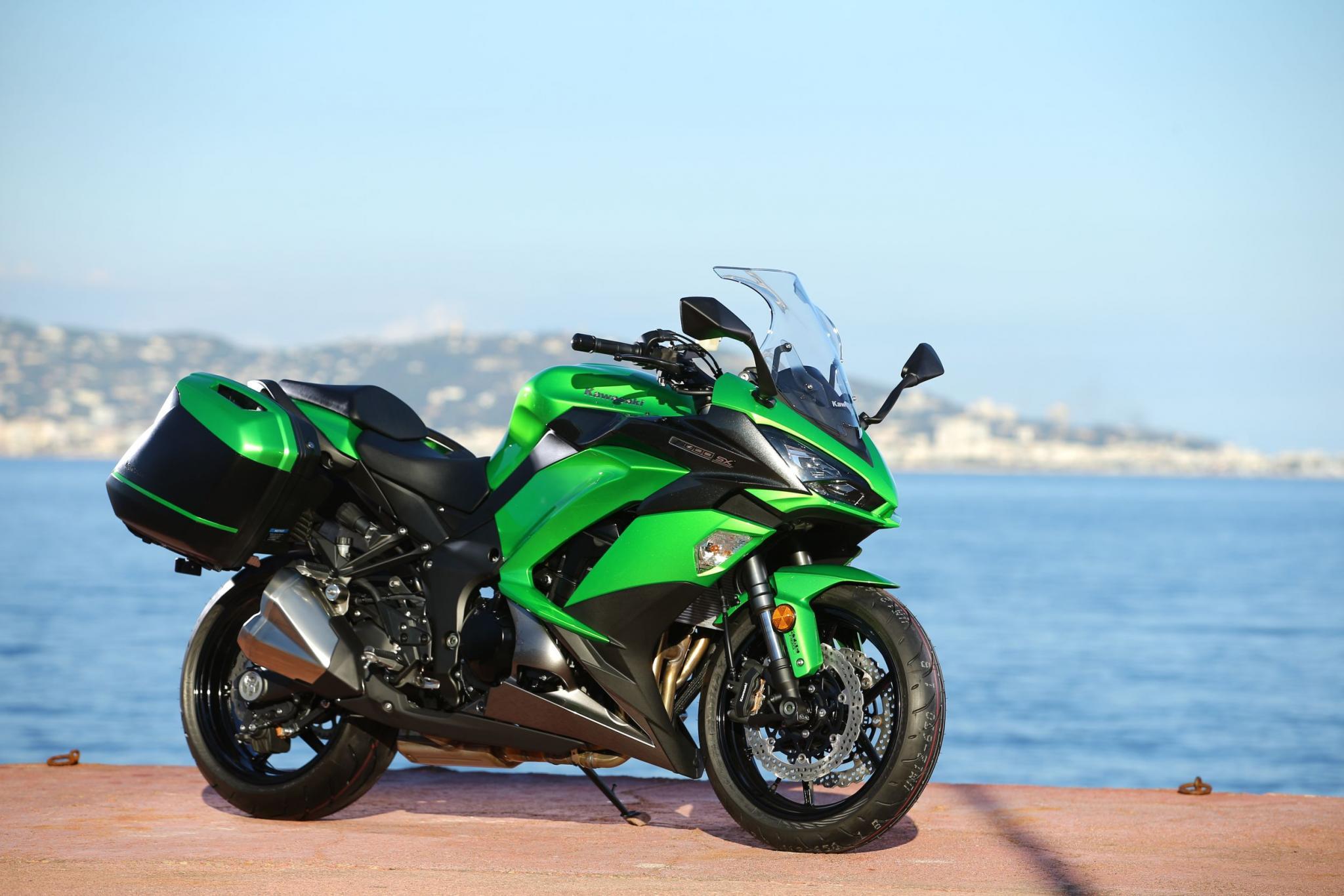 Kawasaki Z1000 SX Test 2017 Motorrad Fotos & Motorrad Bilder