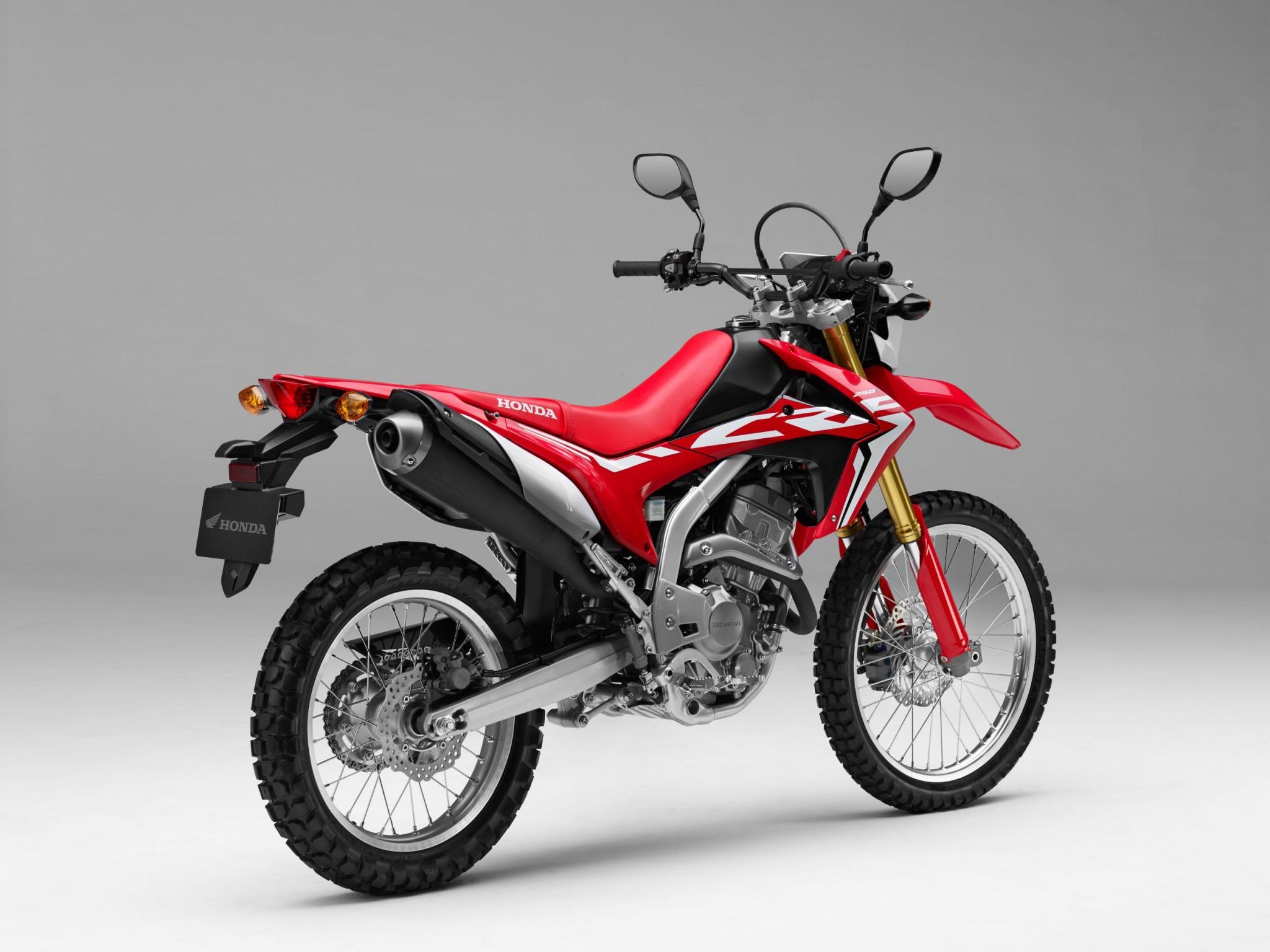Honda CRF250L 2017 Motorrad Fotos & Motorrad Bilder